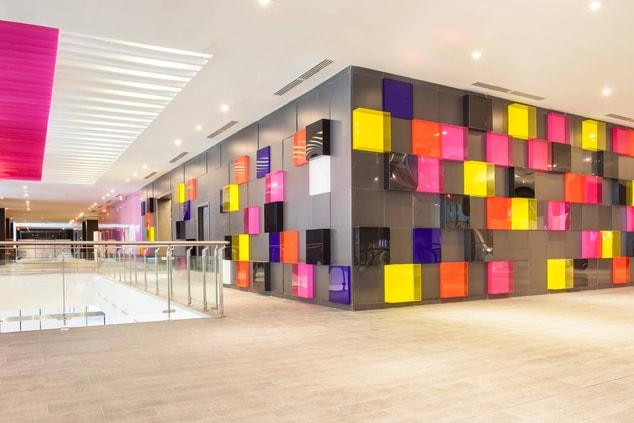 Panama City Hotel Lobby