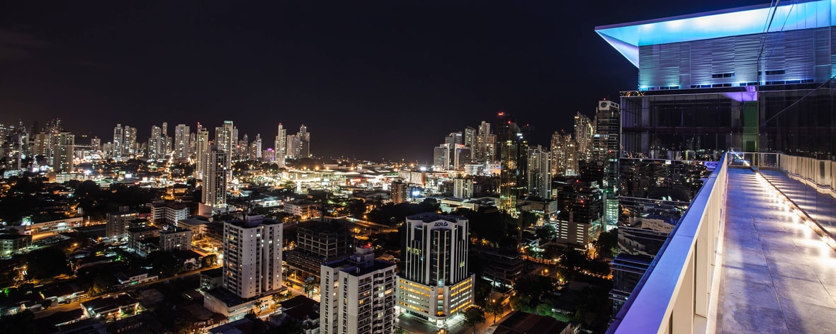 Hotel mit Blick auf Panama