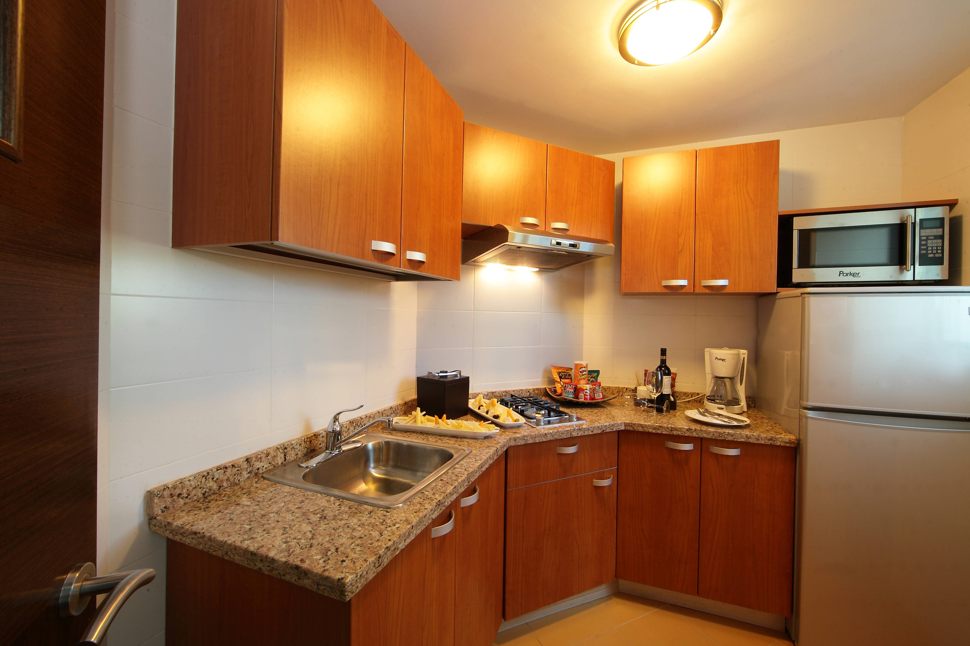 Panama City Apartments Kitchenette