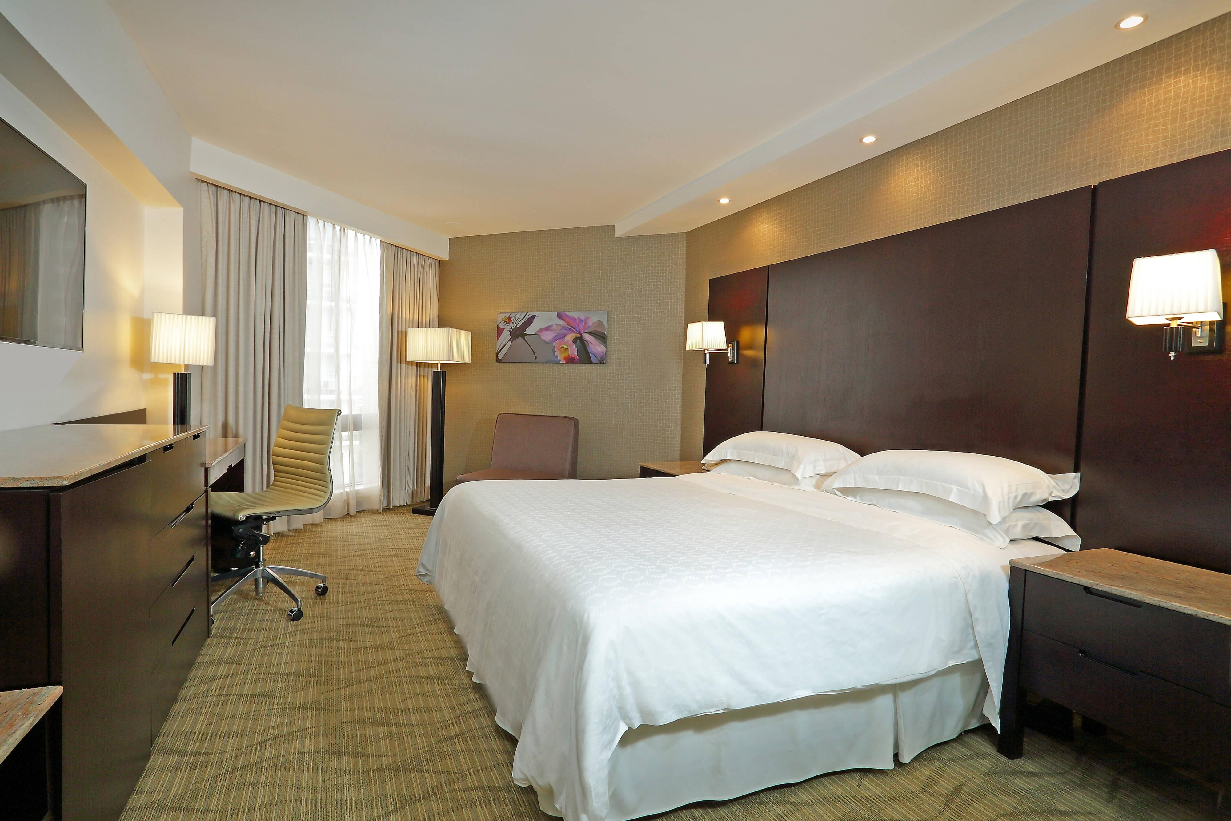 Deluxe King City View Guest Room