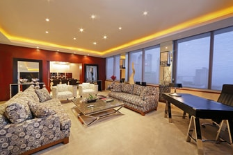 Living Room of the presidential Suite