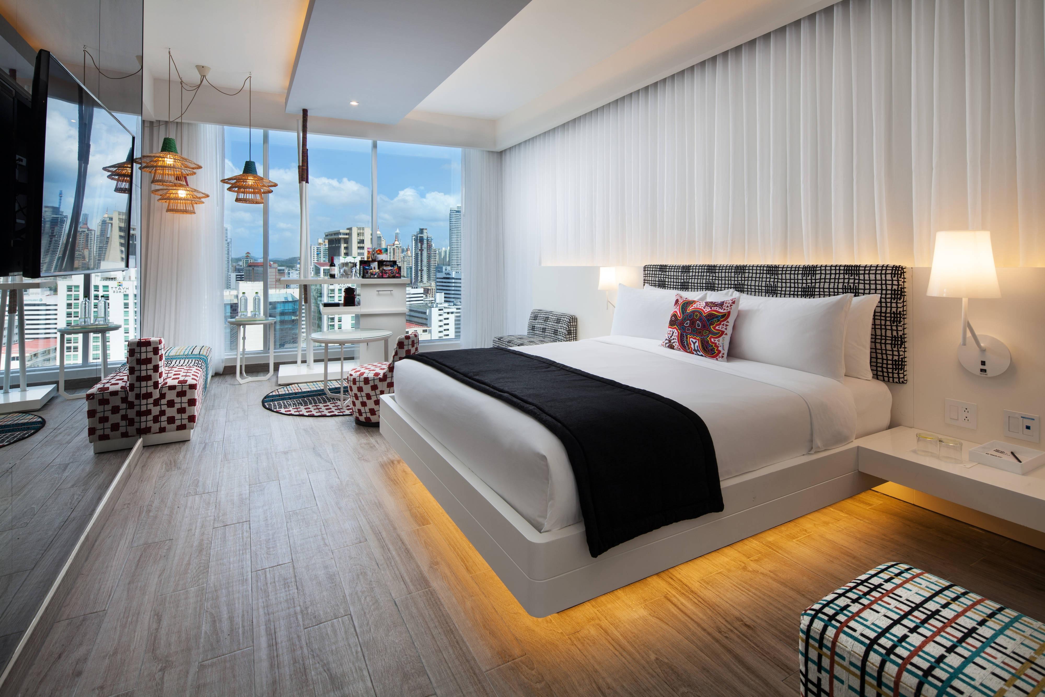 Habitación Wonderful con cama King