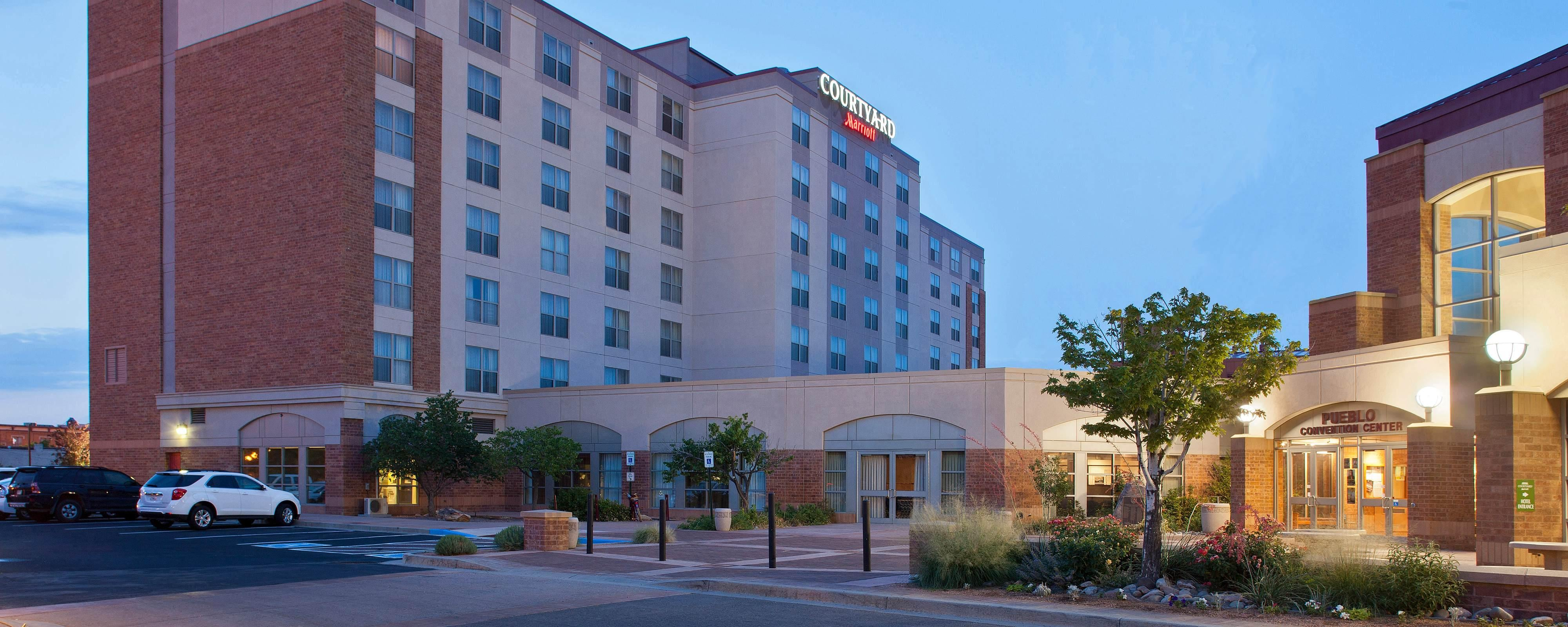 Courtyard By Marriott Pueblo Downtown Upgraded Hotel In Colorado