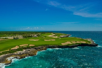 Corales Golf Course, hoyo 18