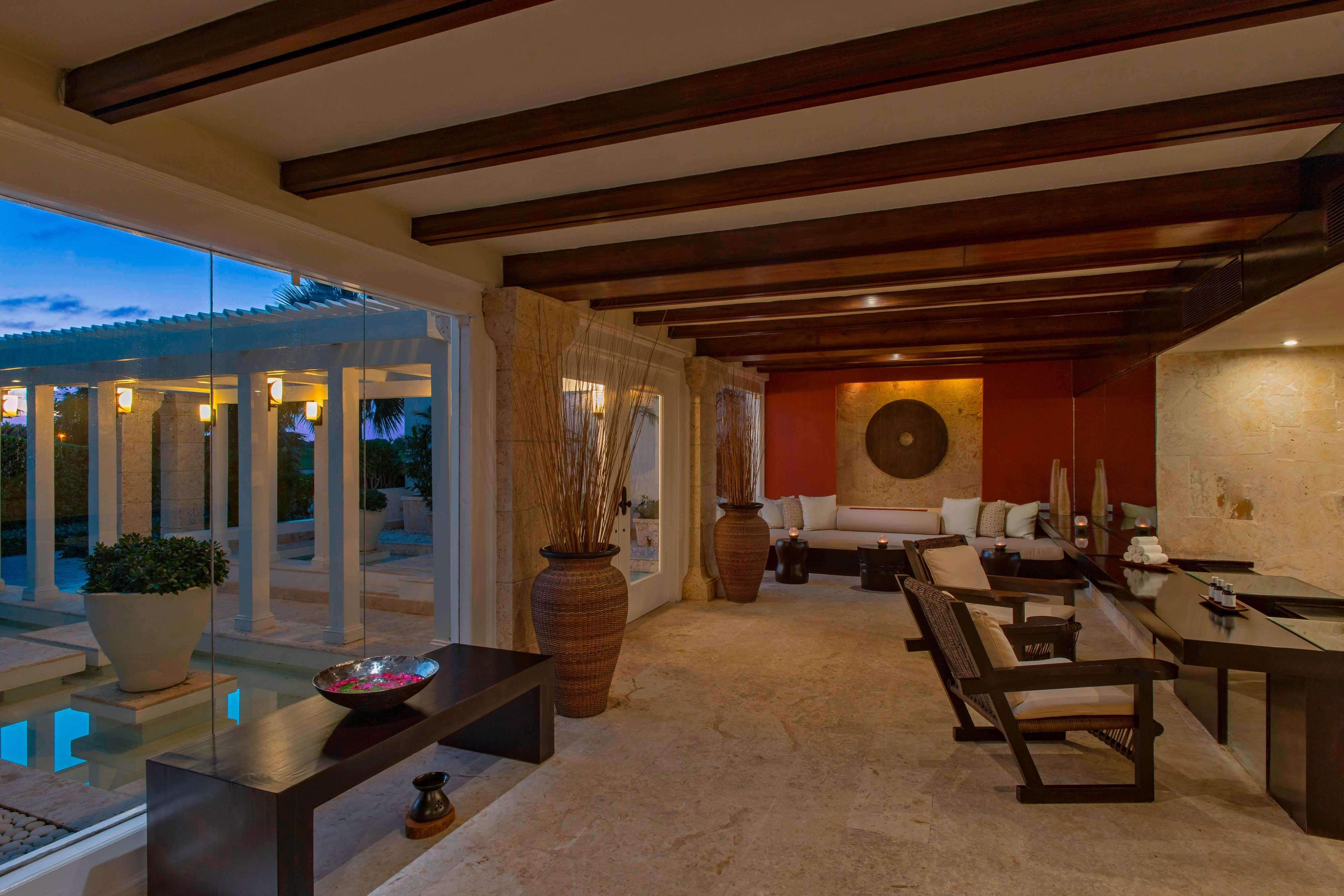 Lobby Six Senses Spa