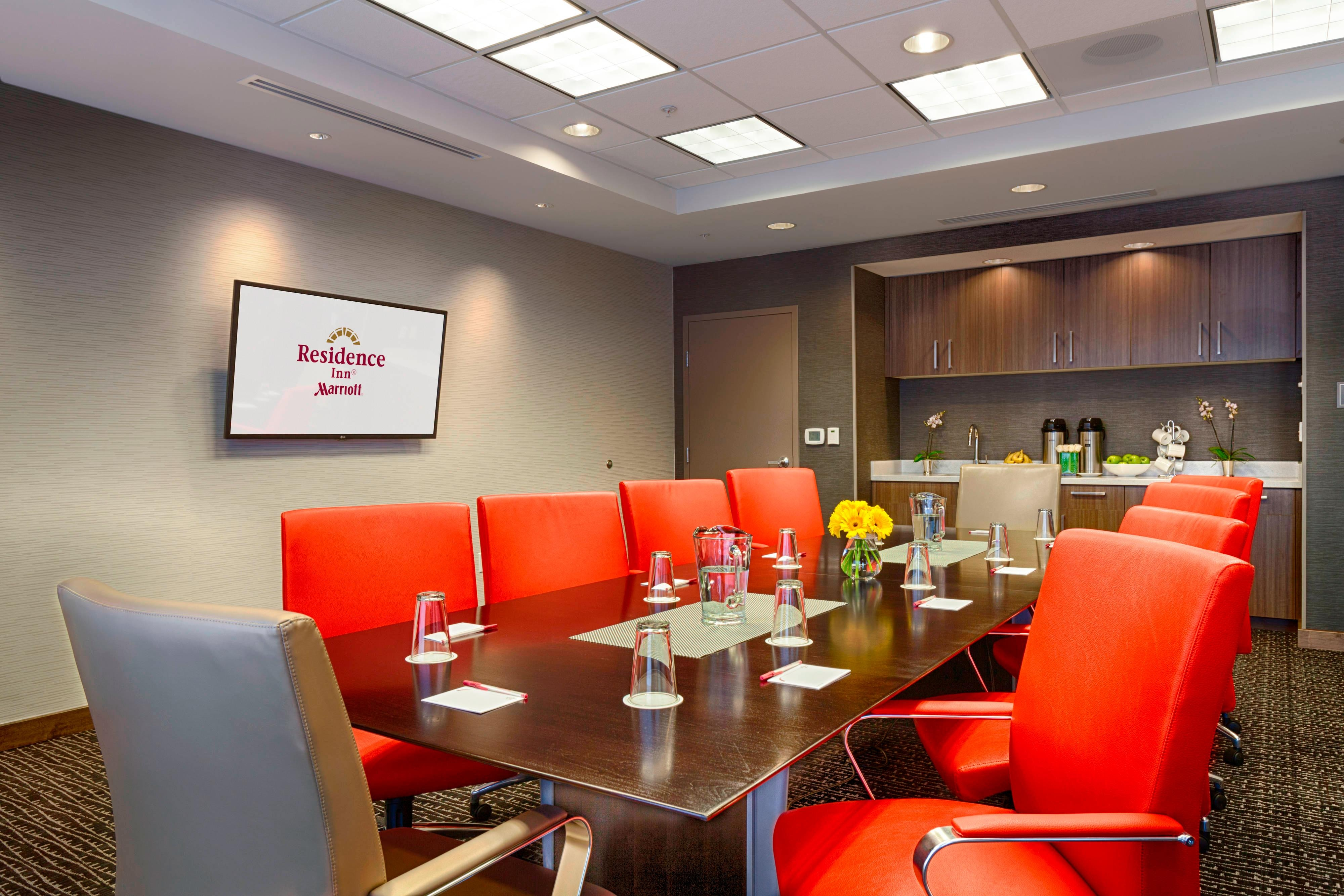 Residence Inn Pullman, Washington Extended Stay Hotel Boardroom Meeting Space