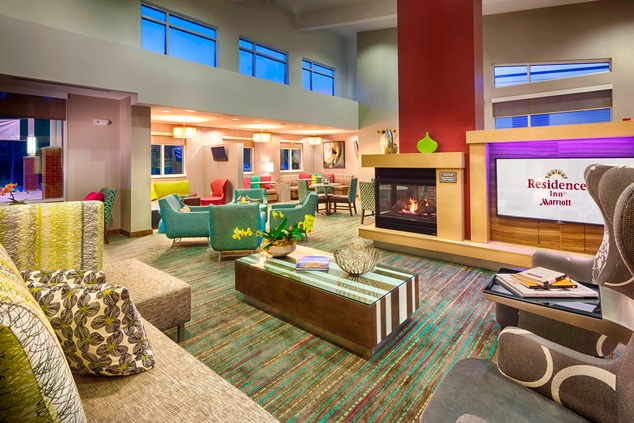 Residence Inn Pullman, Washington Extended Stay Hotel Lobby