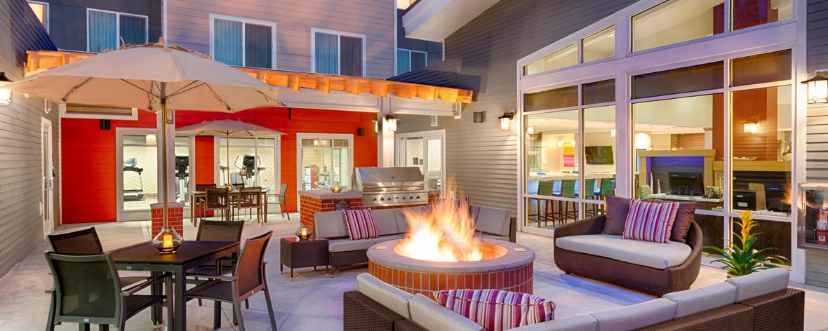 Residence Inn Pullman, Washington Extended Stay Hotel Patio