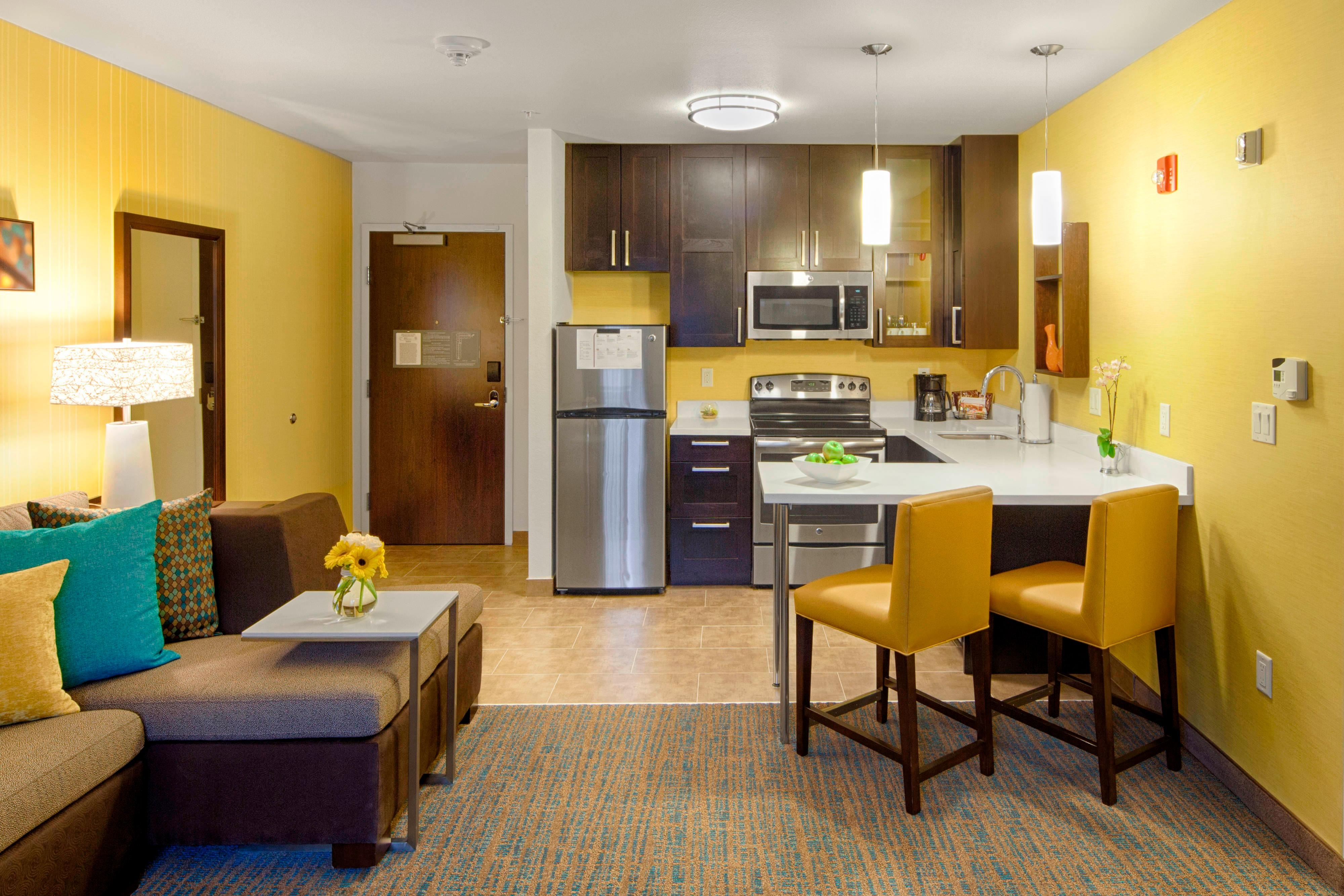 Residence Inn Pullman, Washington Extended Stay Hotel One-Bedroom Suite
