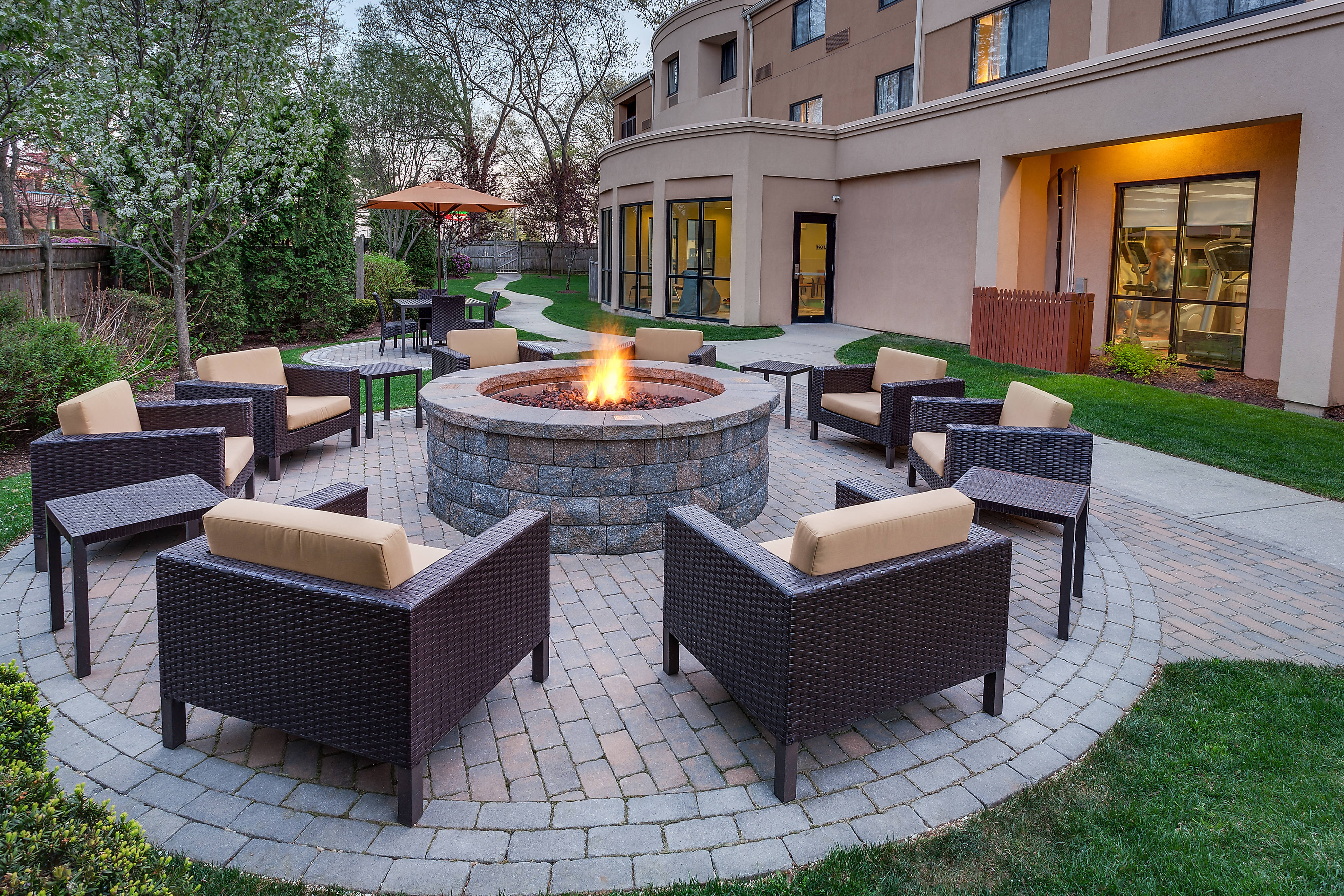 Relaxing Outdoor Fire Pit