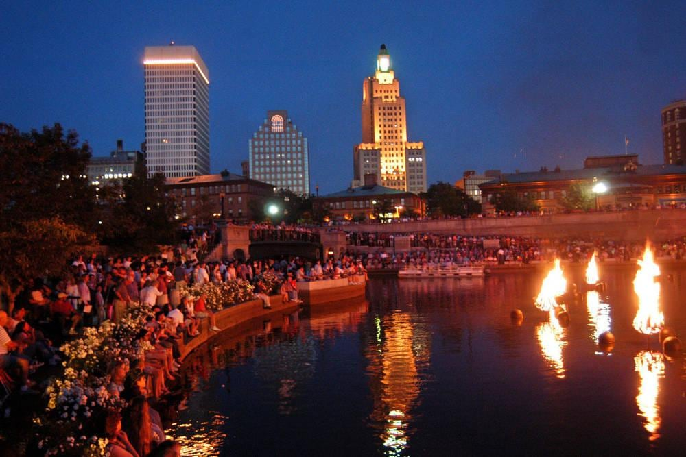 Water Fire at Waterplace Park