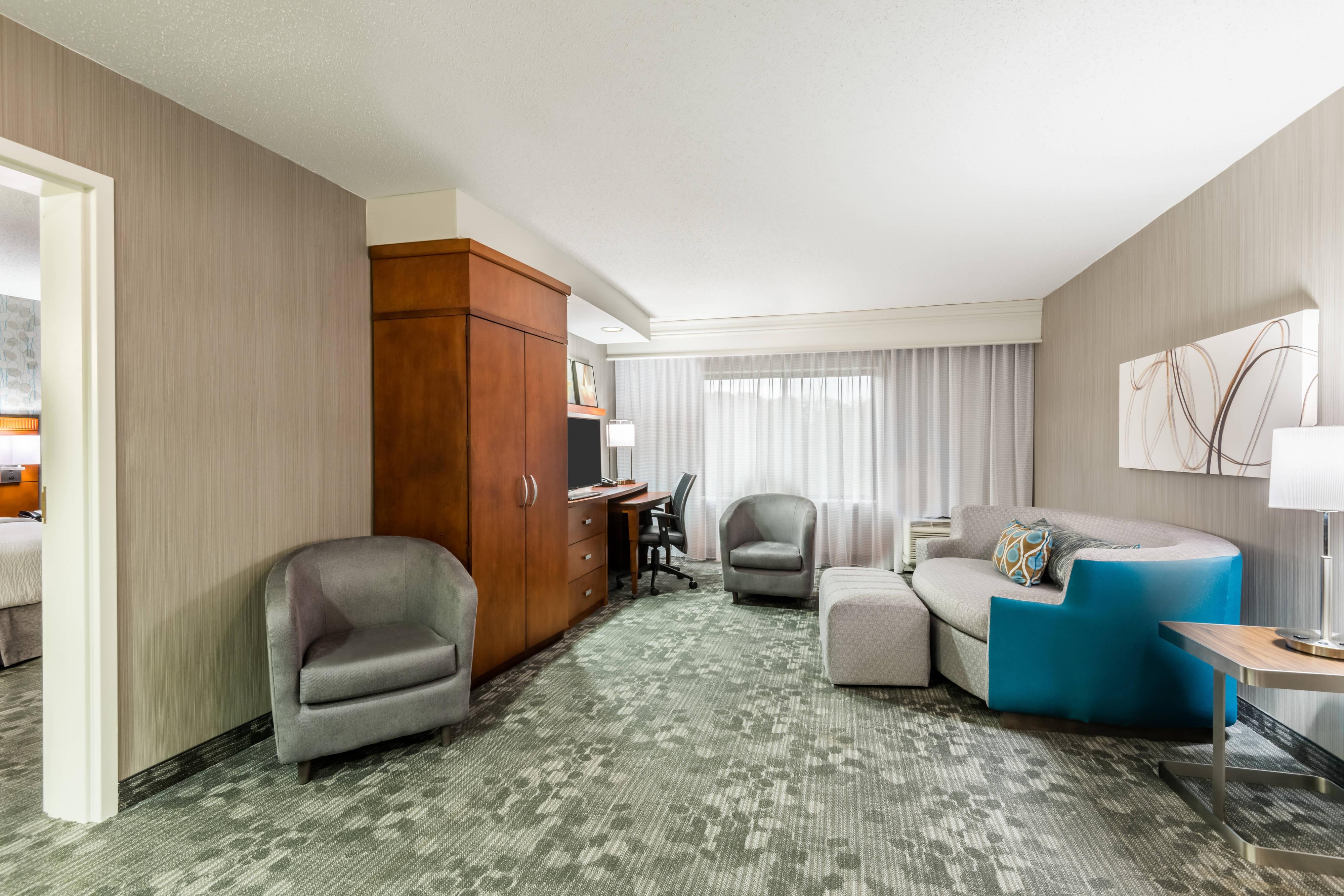 Suite King - Sala de estar