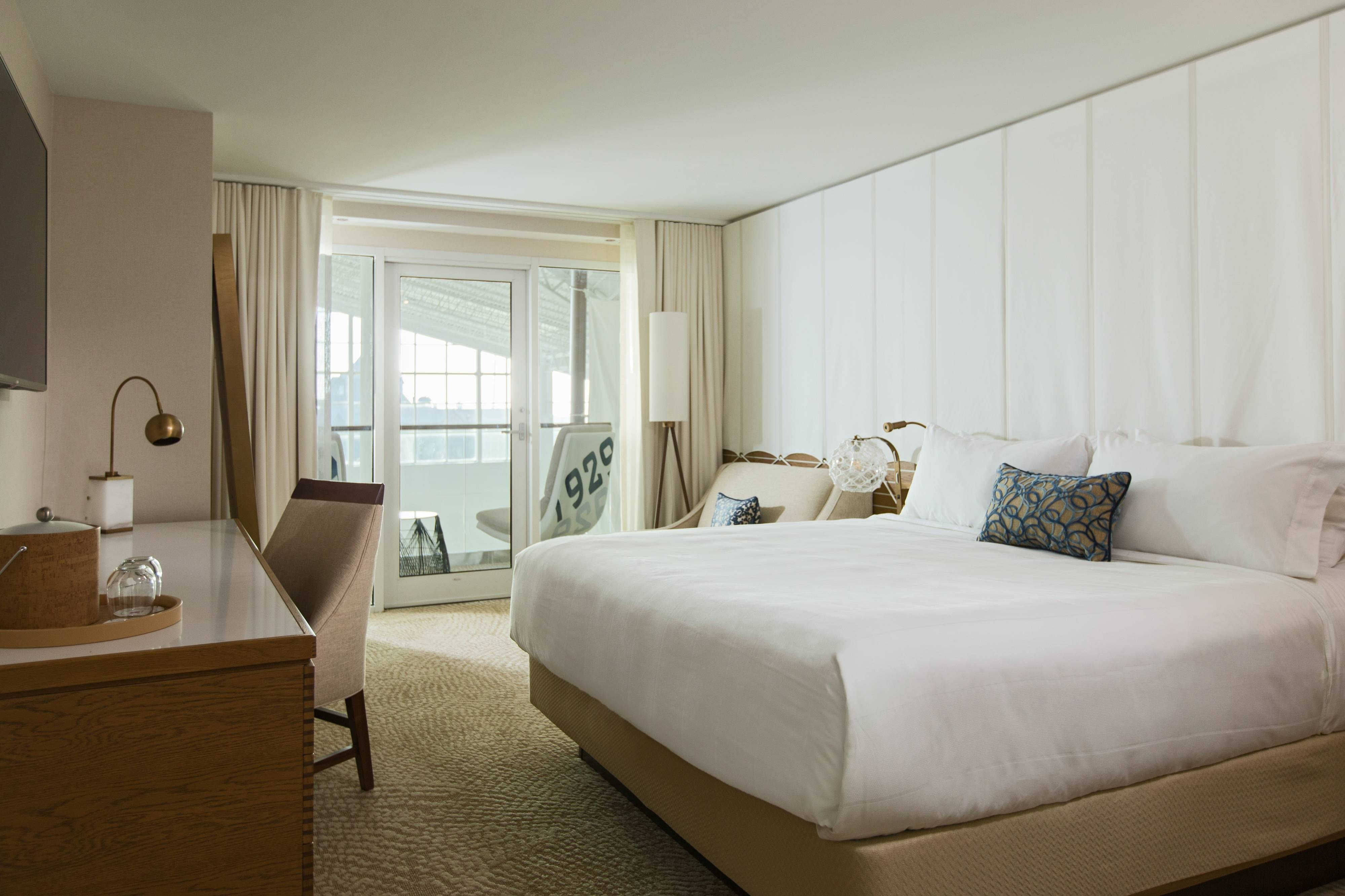 King Guest Room with Interior Balcony