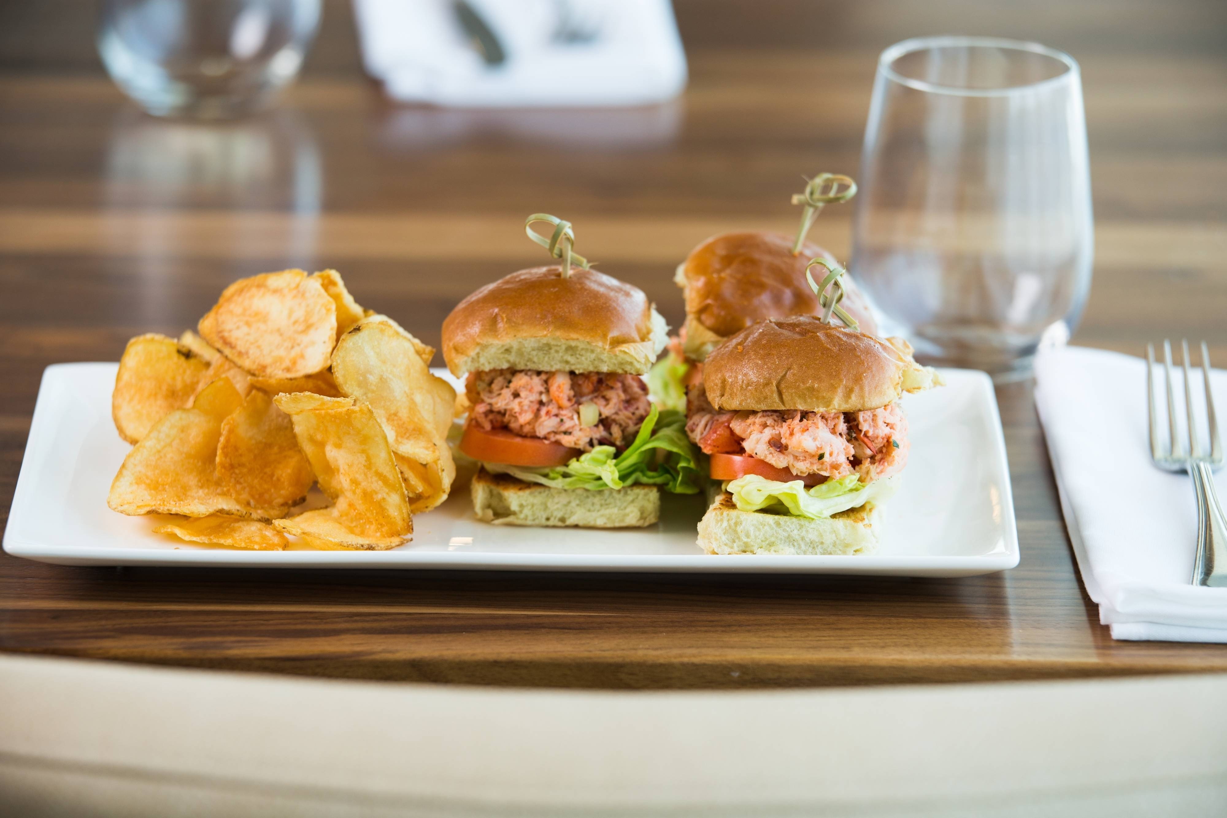 Newport Dining Lobster Sliders