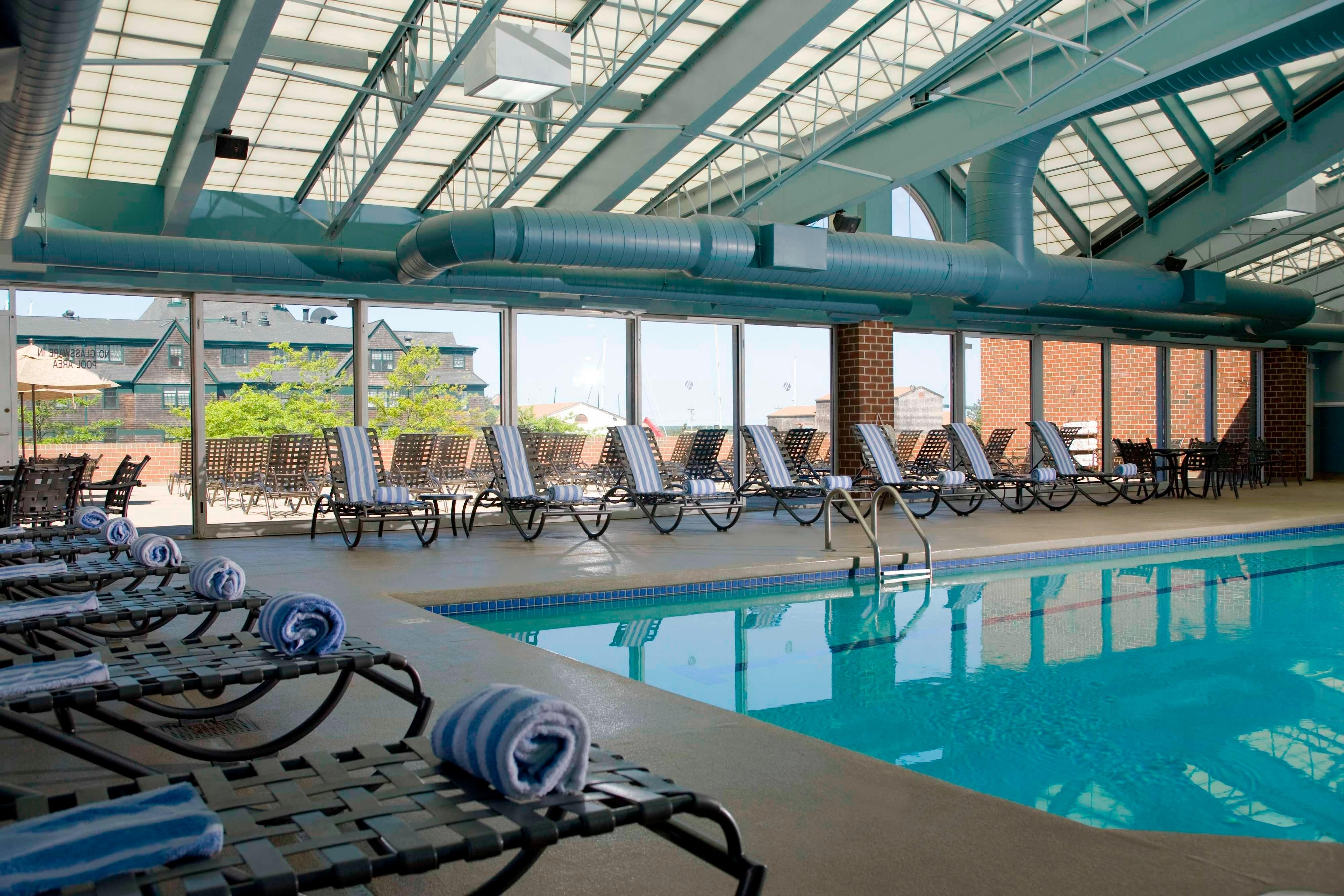 Indoor Pool at Newport Marriott