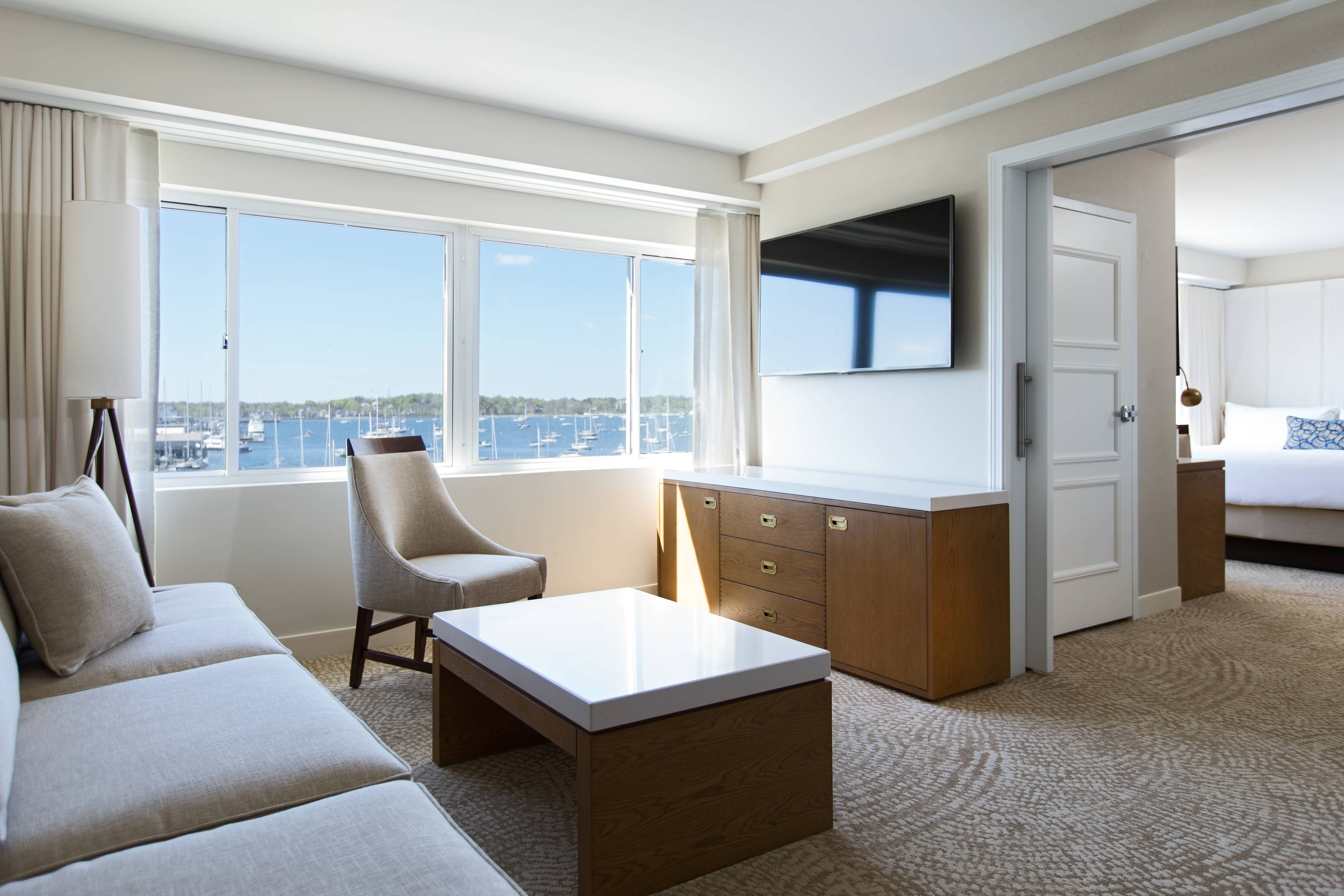 Newport Suites Living Area