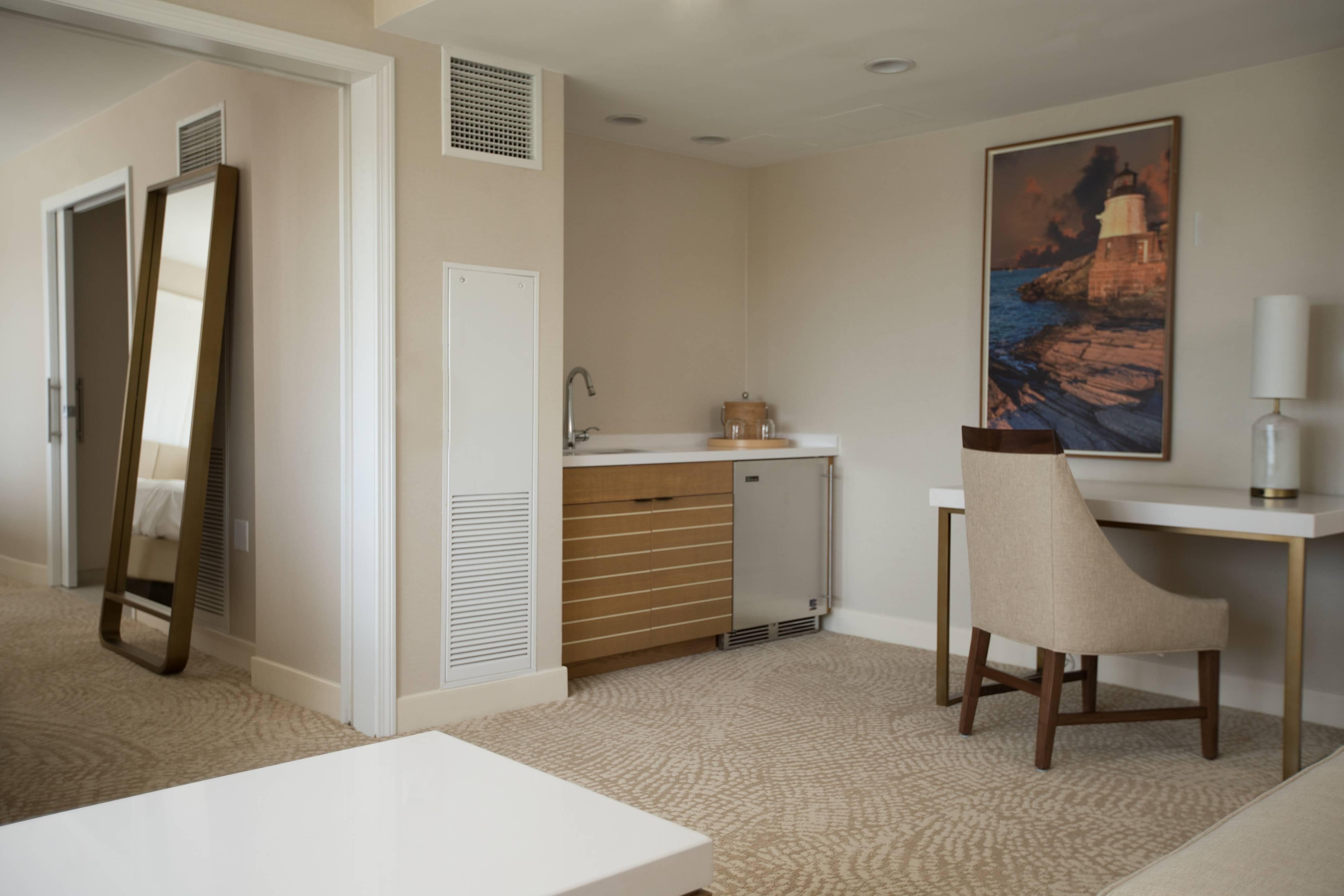 Newport Junior Suite Living Area