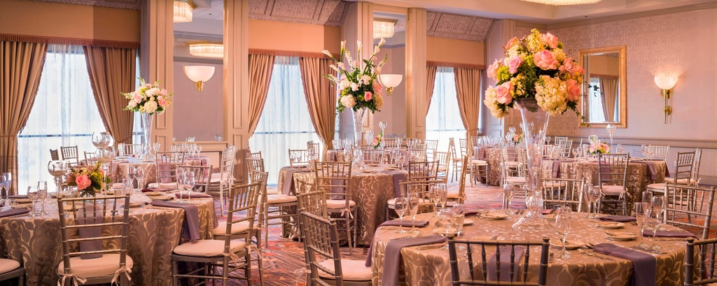 Ballroom – Wedding Setup