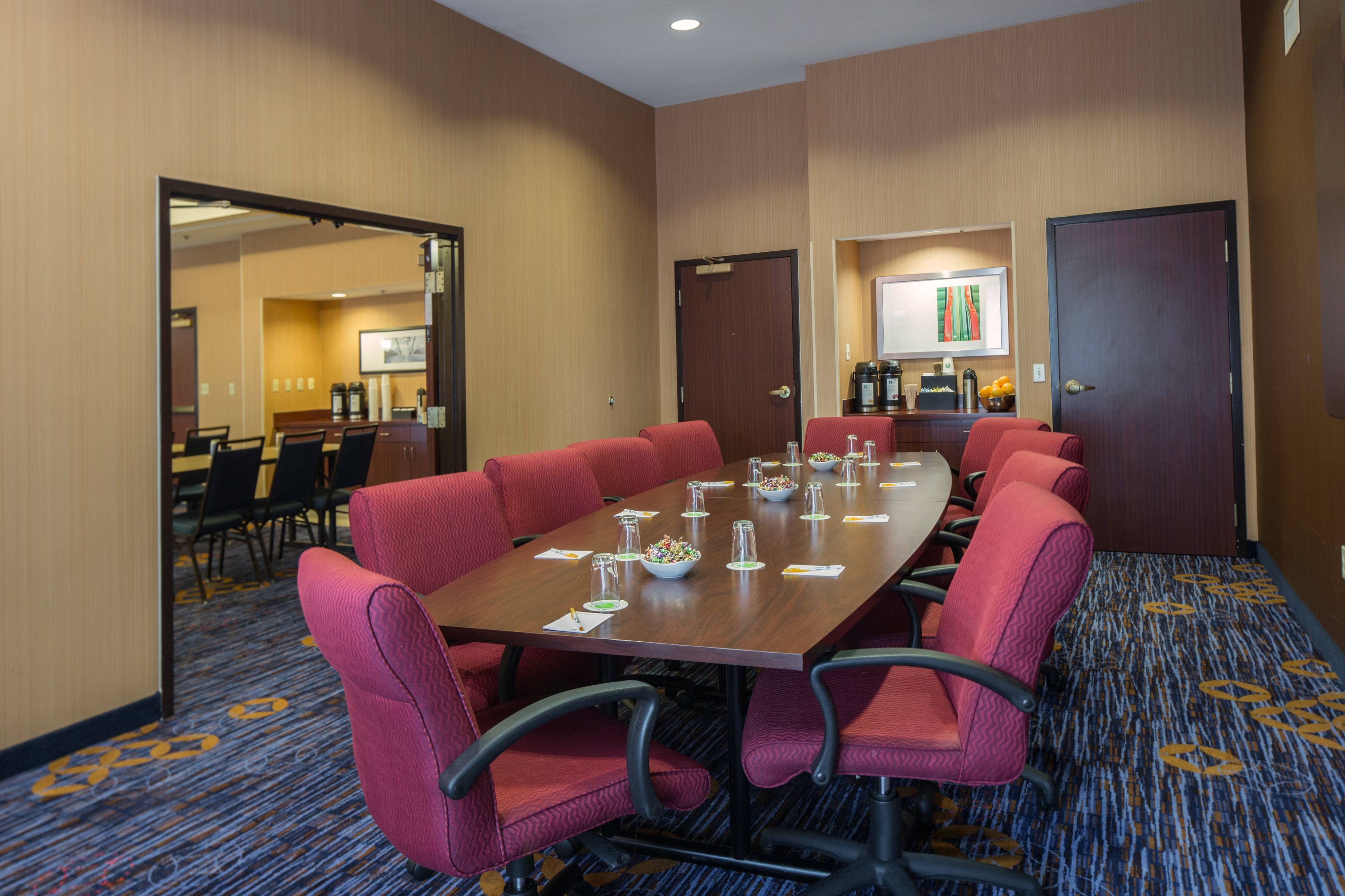 Boston Raynham Hotel Meeting Room A//B (Conncecting Rooms)