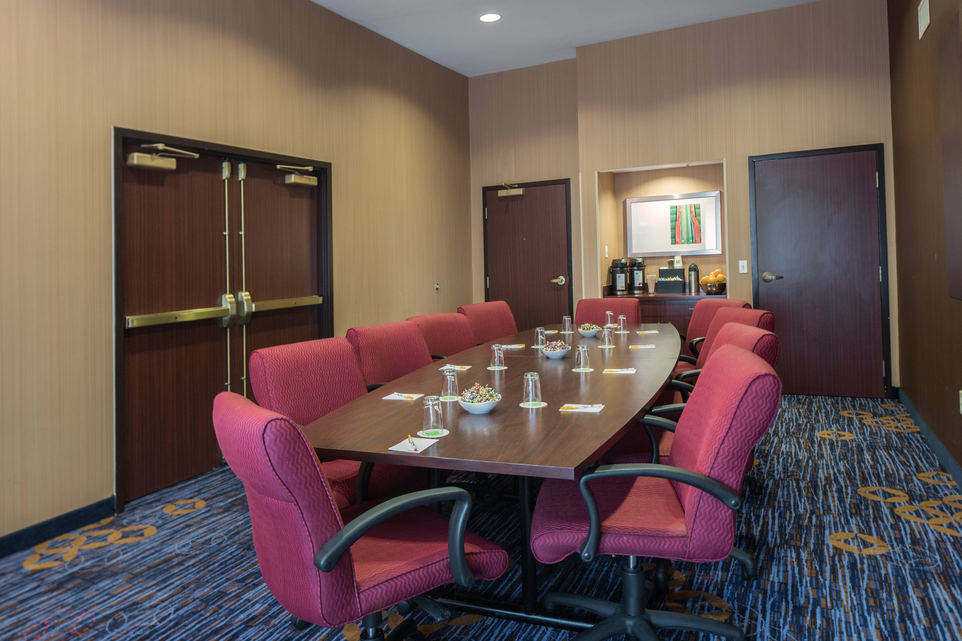 Boston Raynham Hotel Meeting Room B