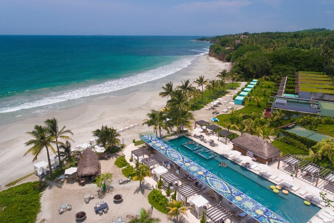 Most Gorgeous Beaches W Punta De Mita Invites You To Immerse Yourself In A Truly Remarkable Hotel Experience Colonial Grandeur Blends Seamlessly With