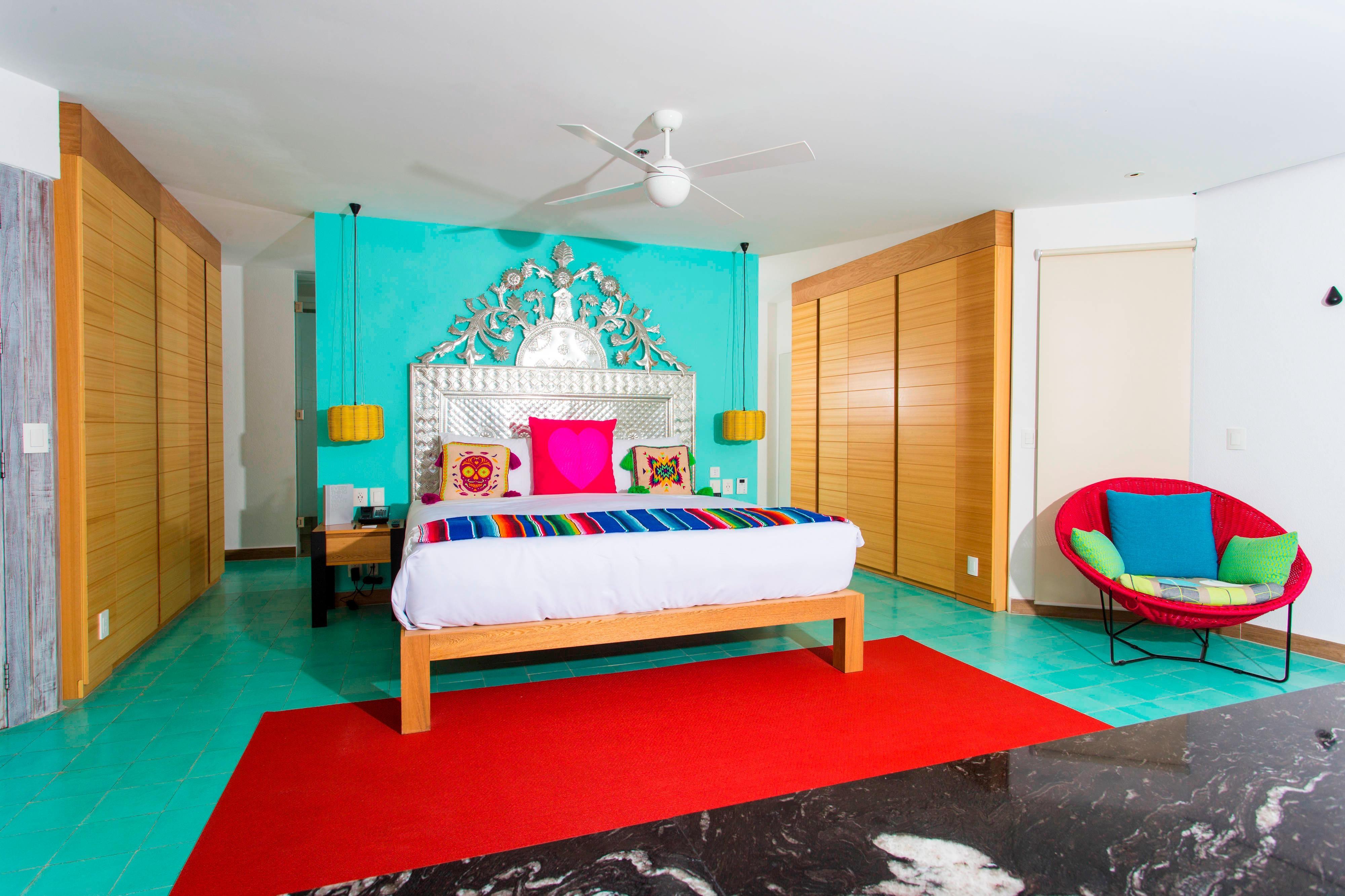 Suite Oasis frente al mar con cama tamaño King