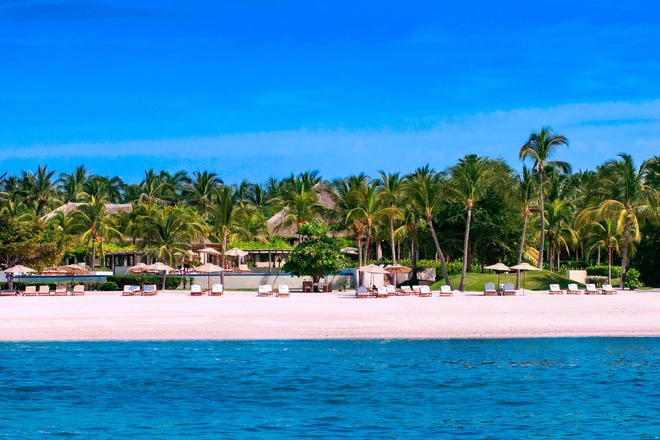 The St. Regis Punta Mita Resort Beach View
