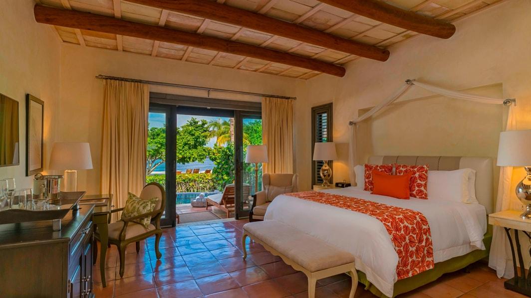 Villa Luxury, chambre à coucher