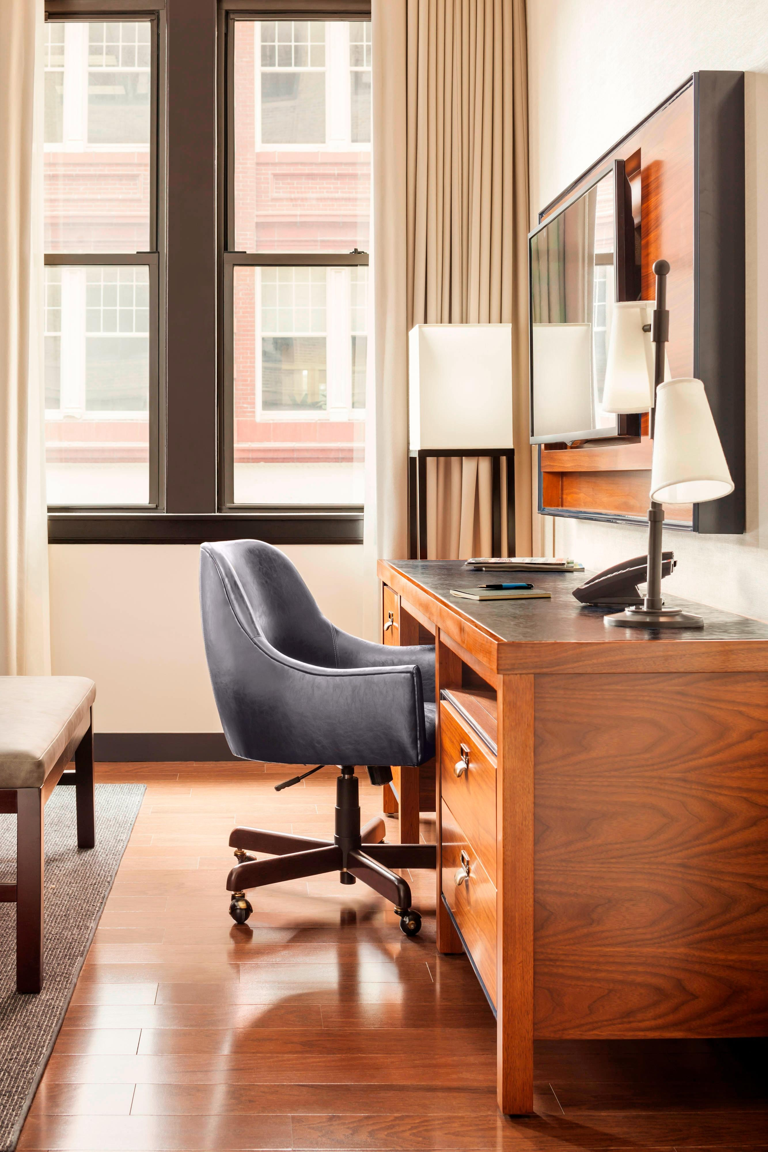 Press Hotel Guest Room Desk