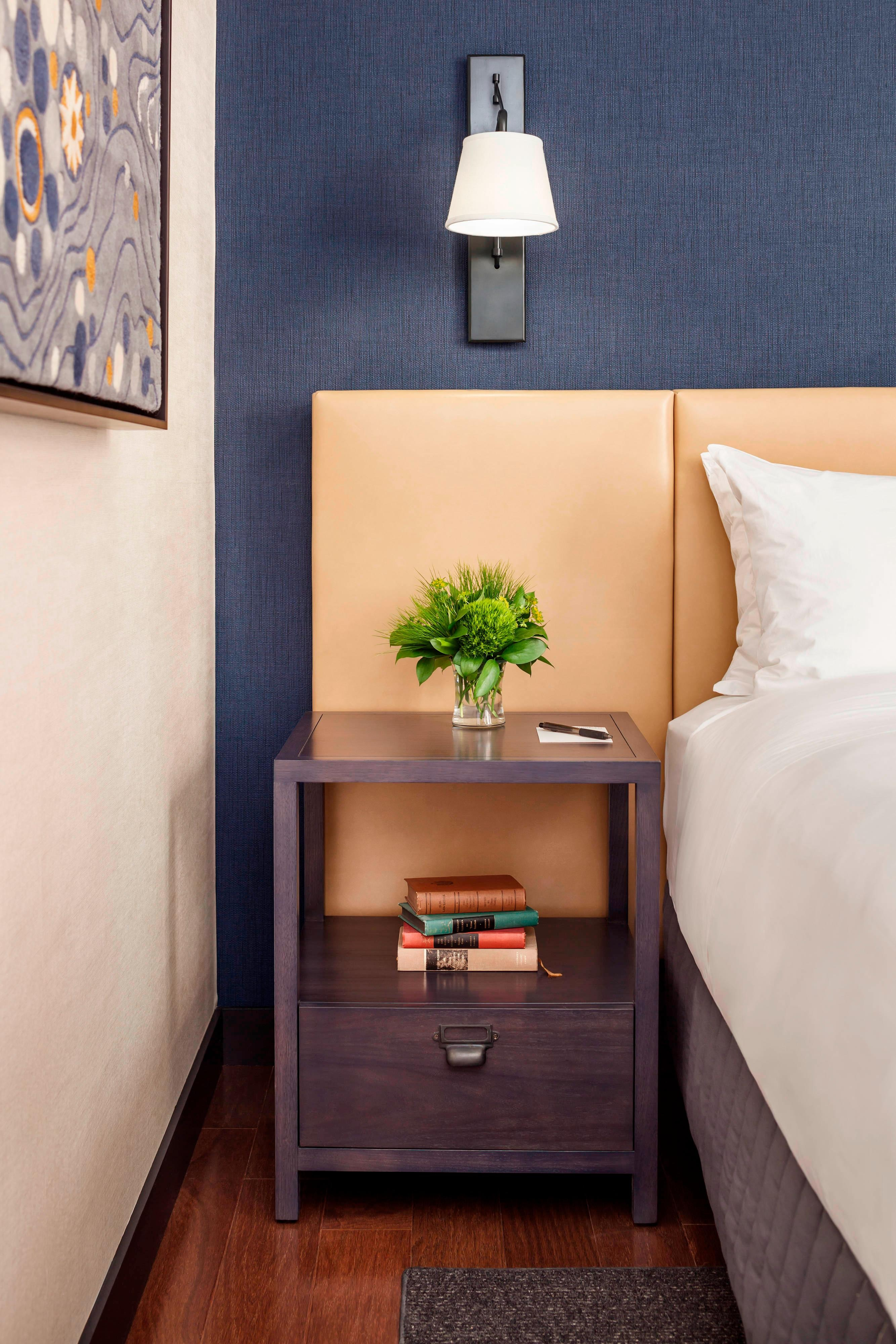 Press Hotel Bedside Table