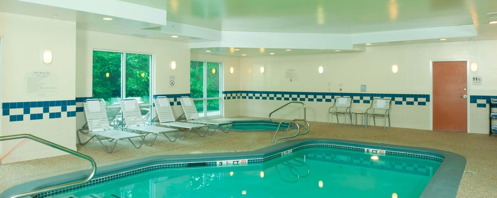 Indoor pool in  Freeport Maine
