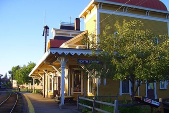 North Conway Train Depot