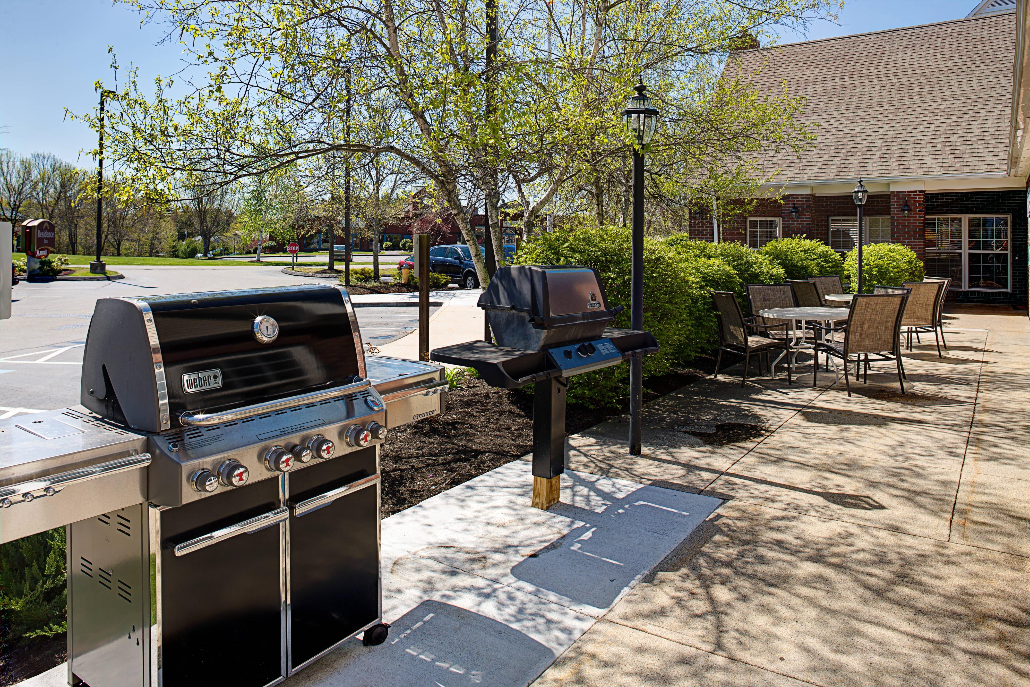 Outdoor Patio BBQ