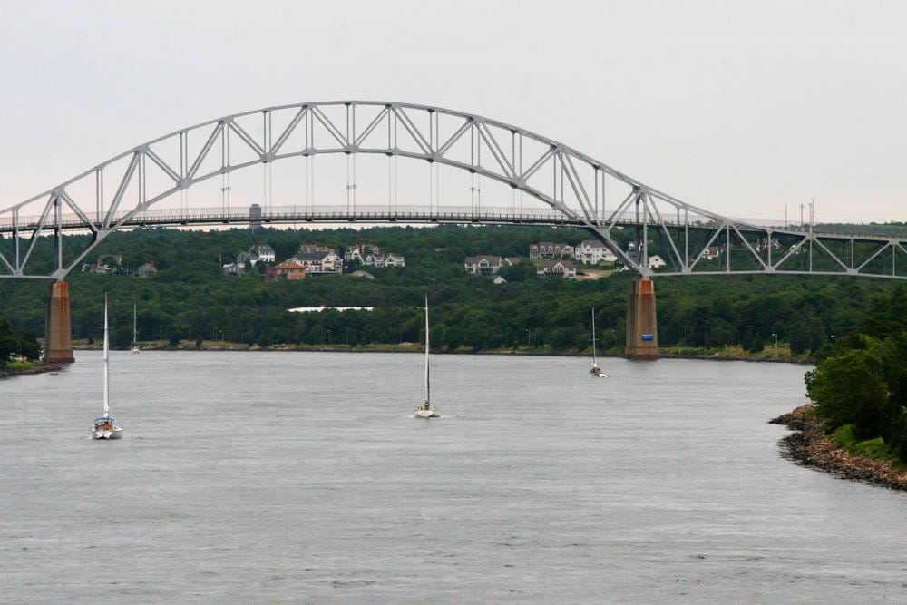 Sagamore Bridge - Cape Cod Canal