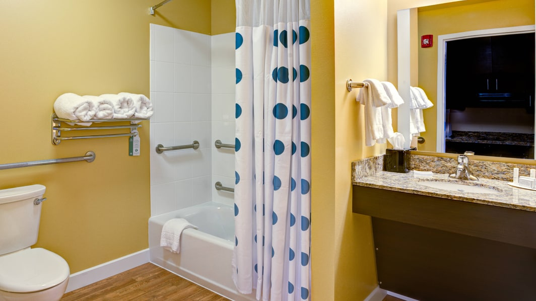 Guest Room Bathroom - Accessible