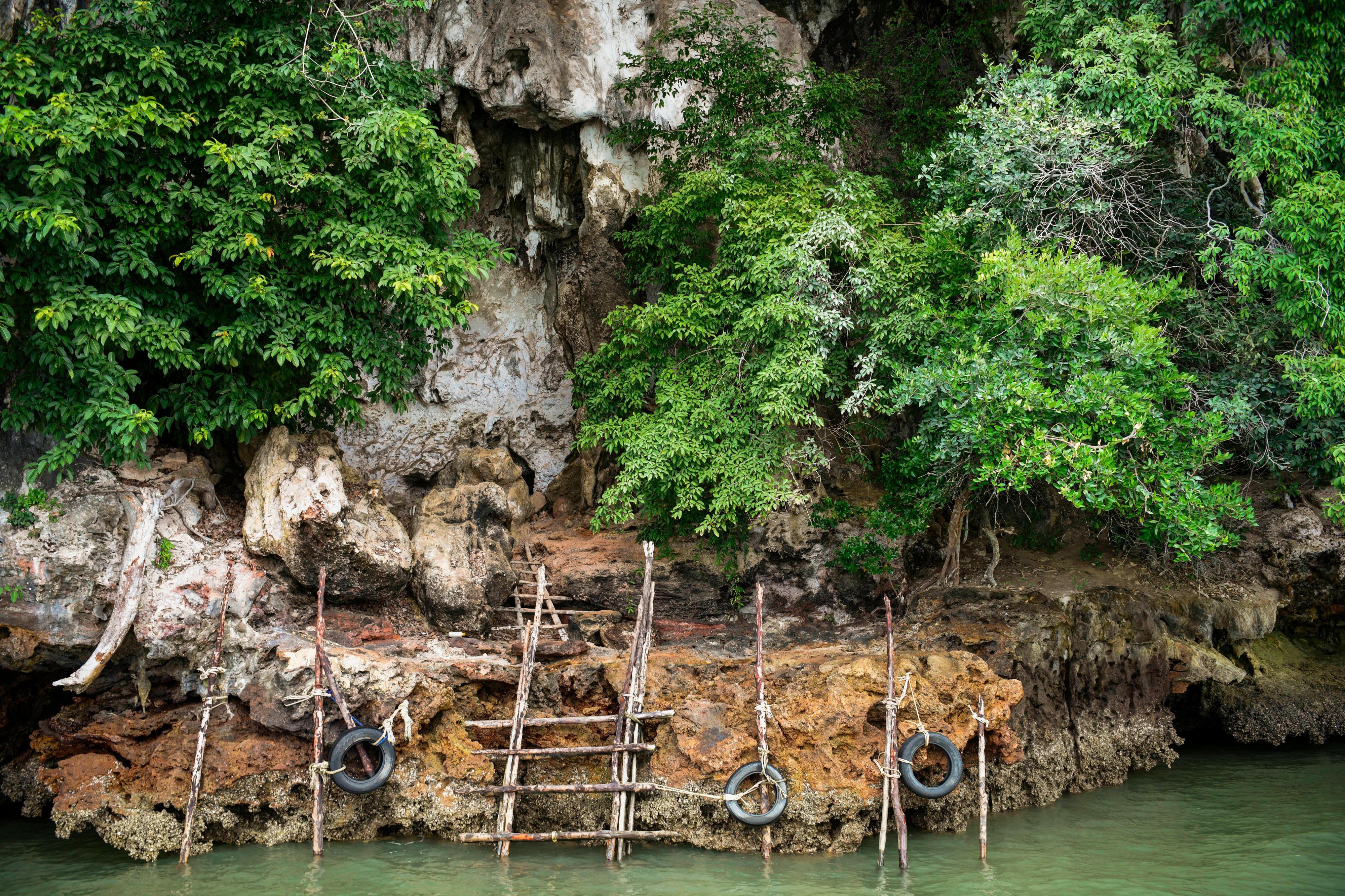 Phang Nga Bay Karian Cave Exterior