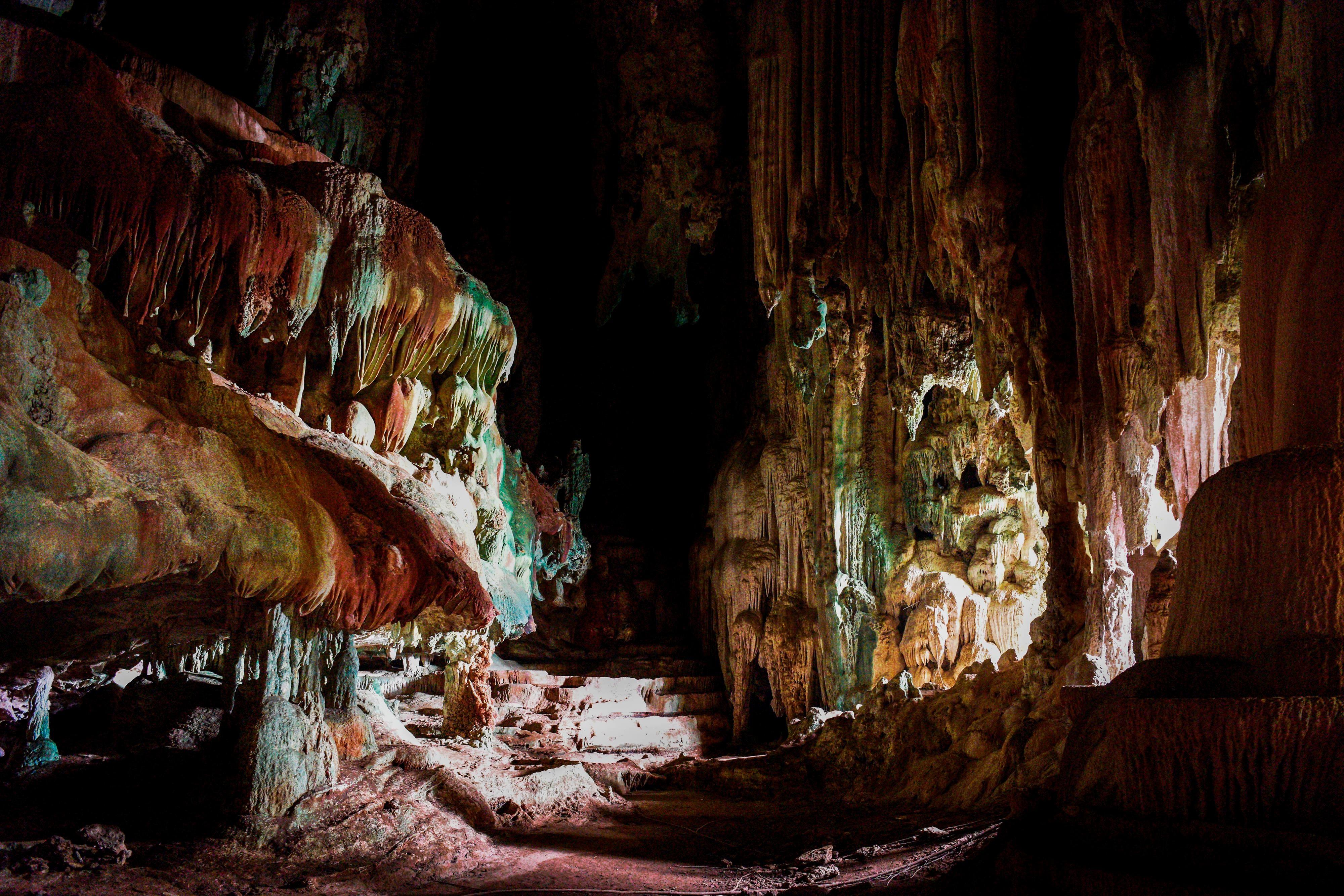 Phang Nga Bay Karian Cave Interior