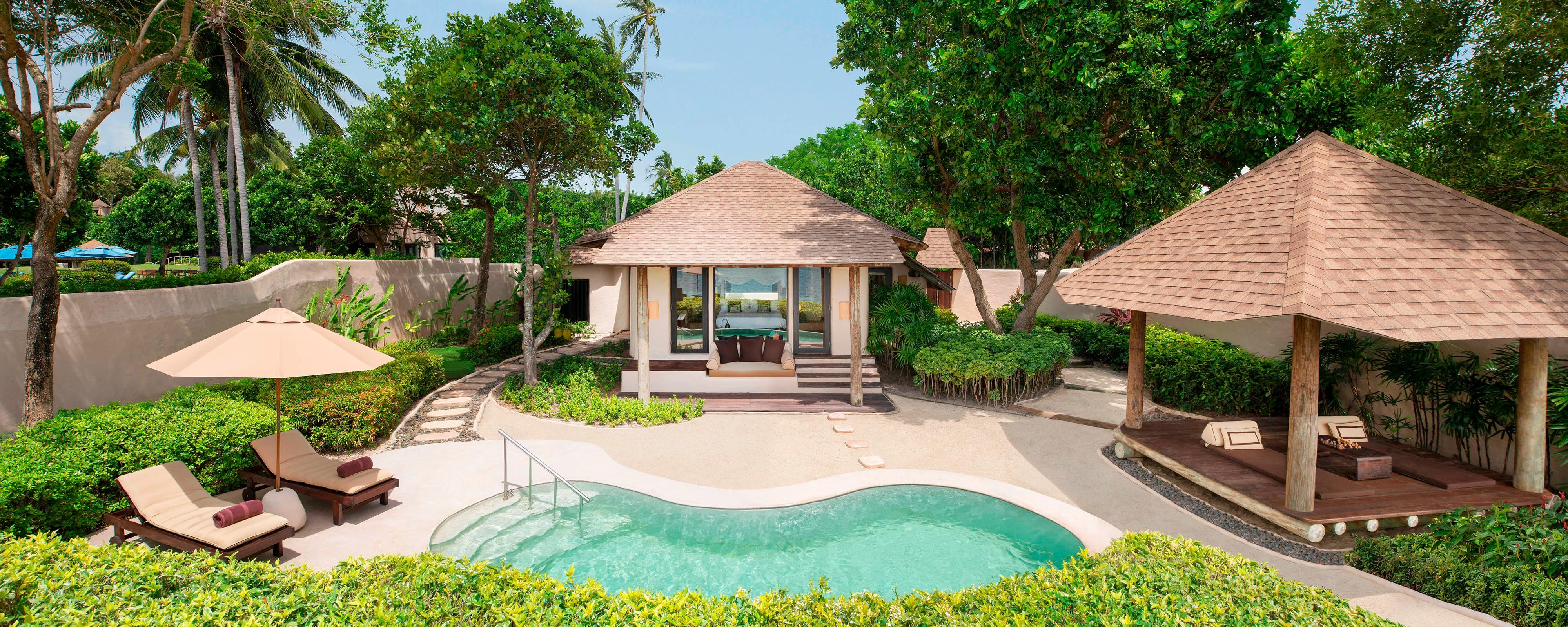 Naka island tropical pool villa