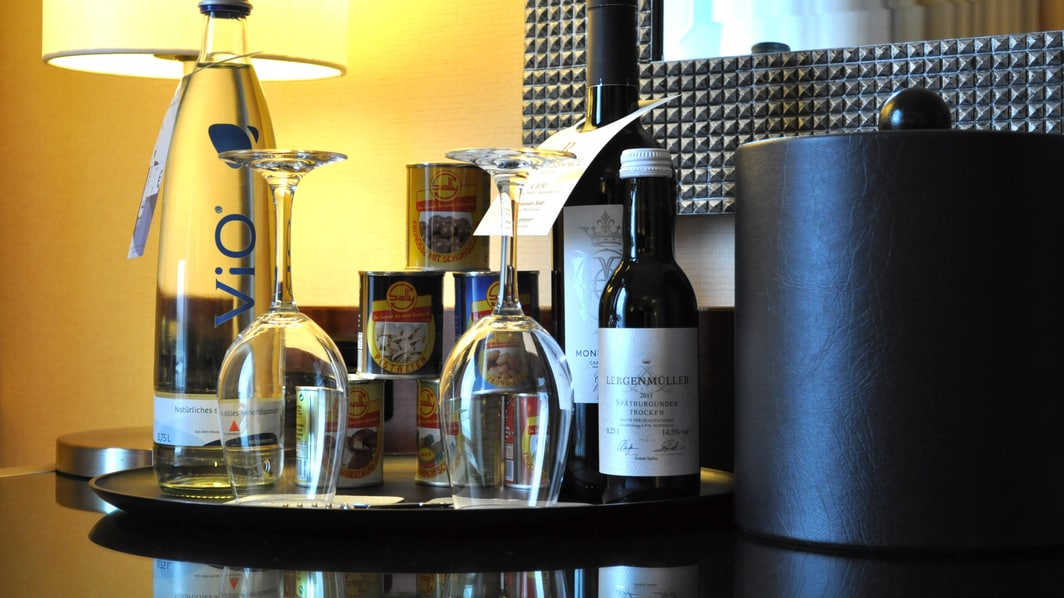 Mini-bar Selection