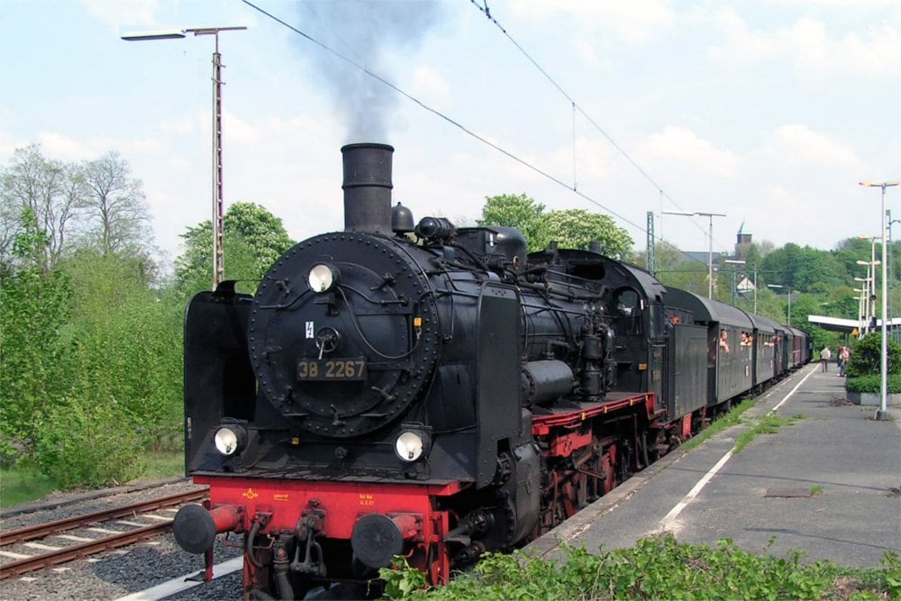 Steam locomotive at Museum