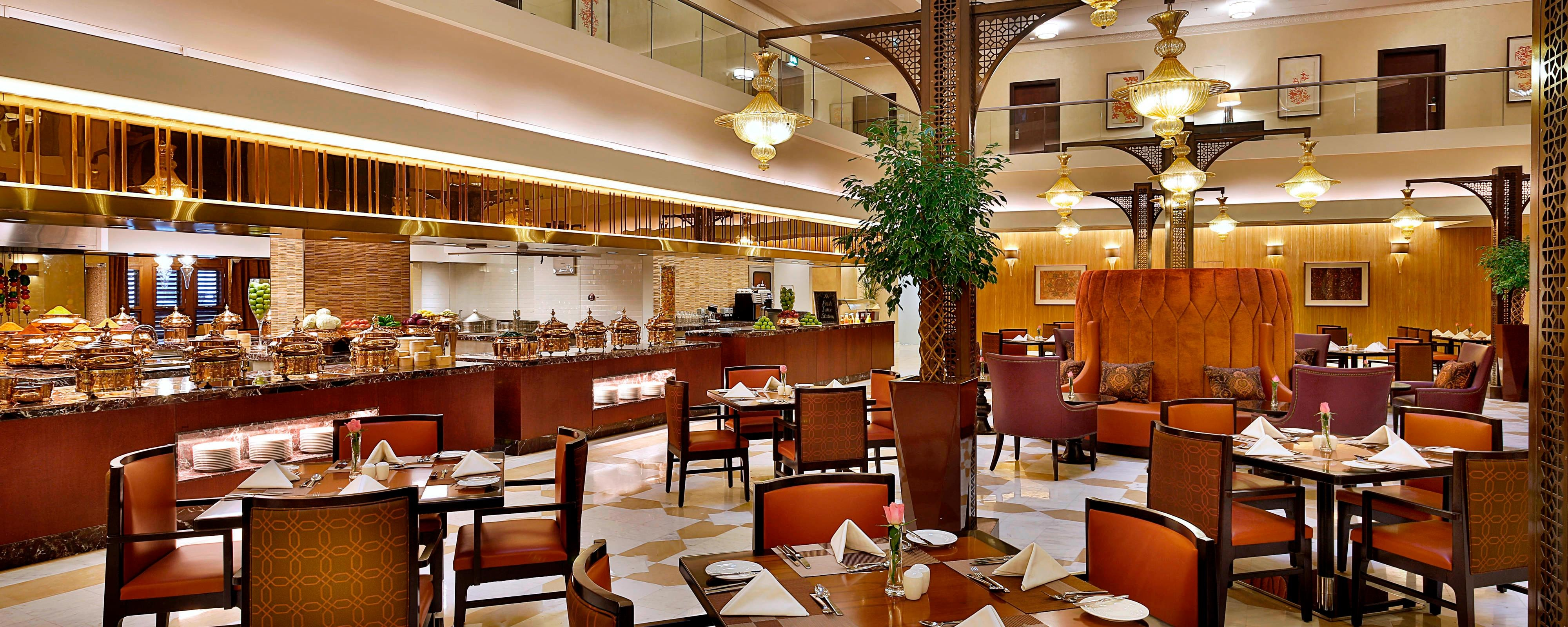 Restaurant im Marriott Makkah