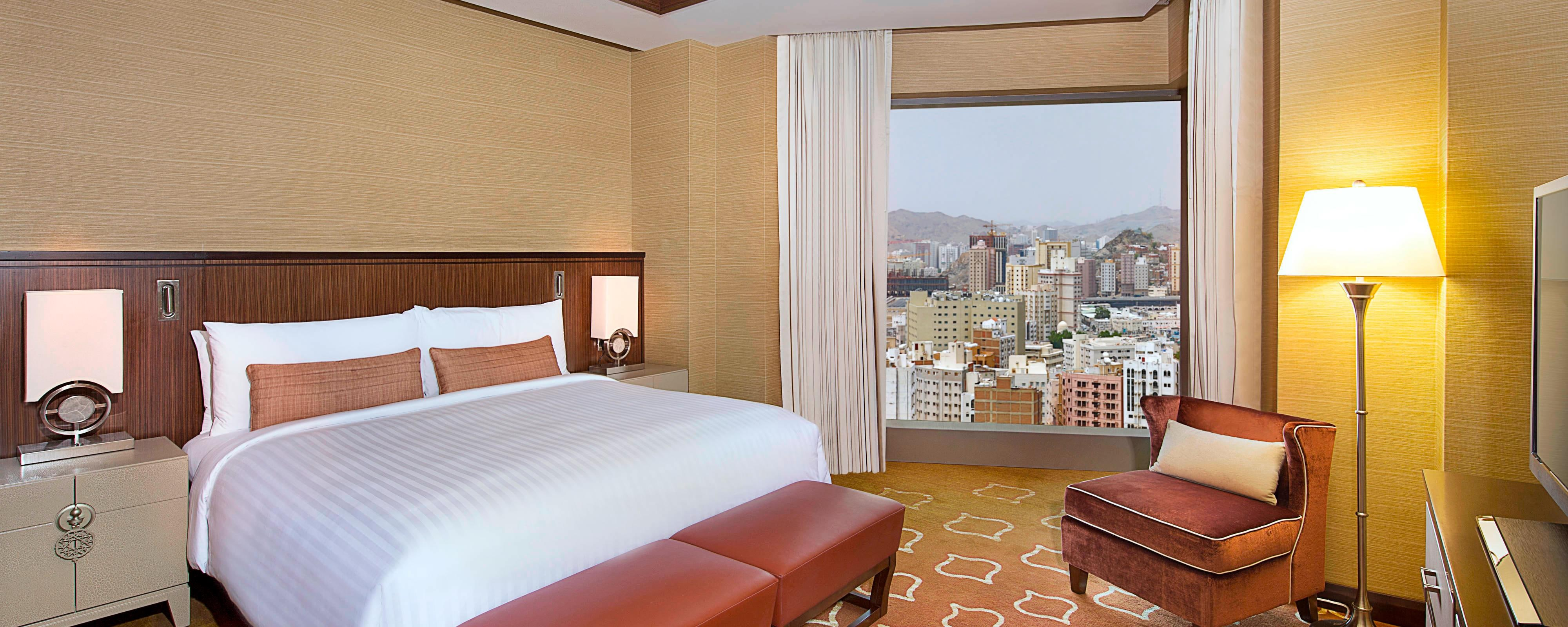 Makkah Marriott Hotel Room