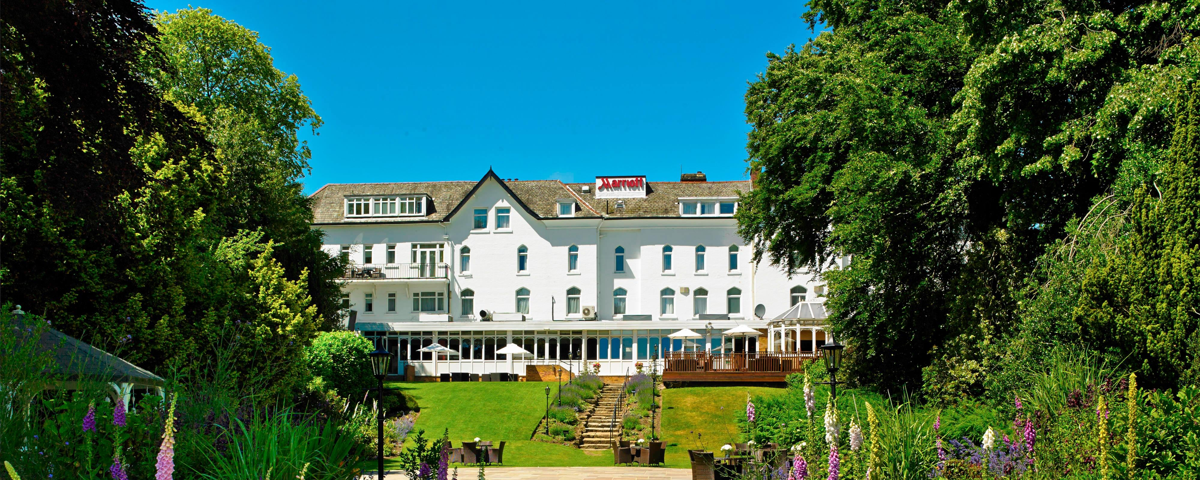 York Marriott near York Racecourse