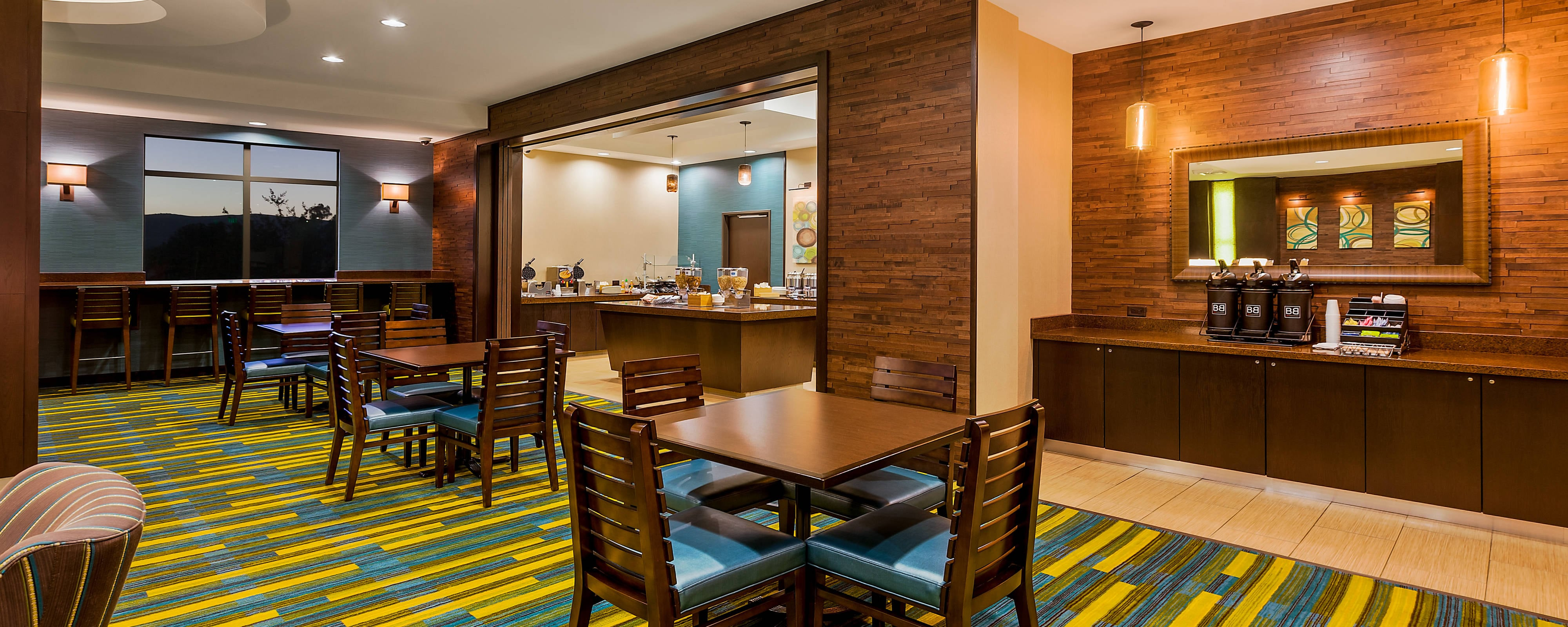 Fairfield Inn Norco Breakfast Area