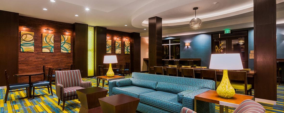 Fairfield Inn Norco Lobby