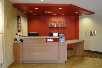 Redding TownePlace Suites Lobby