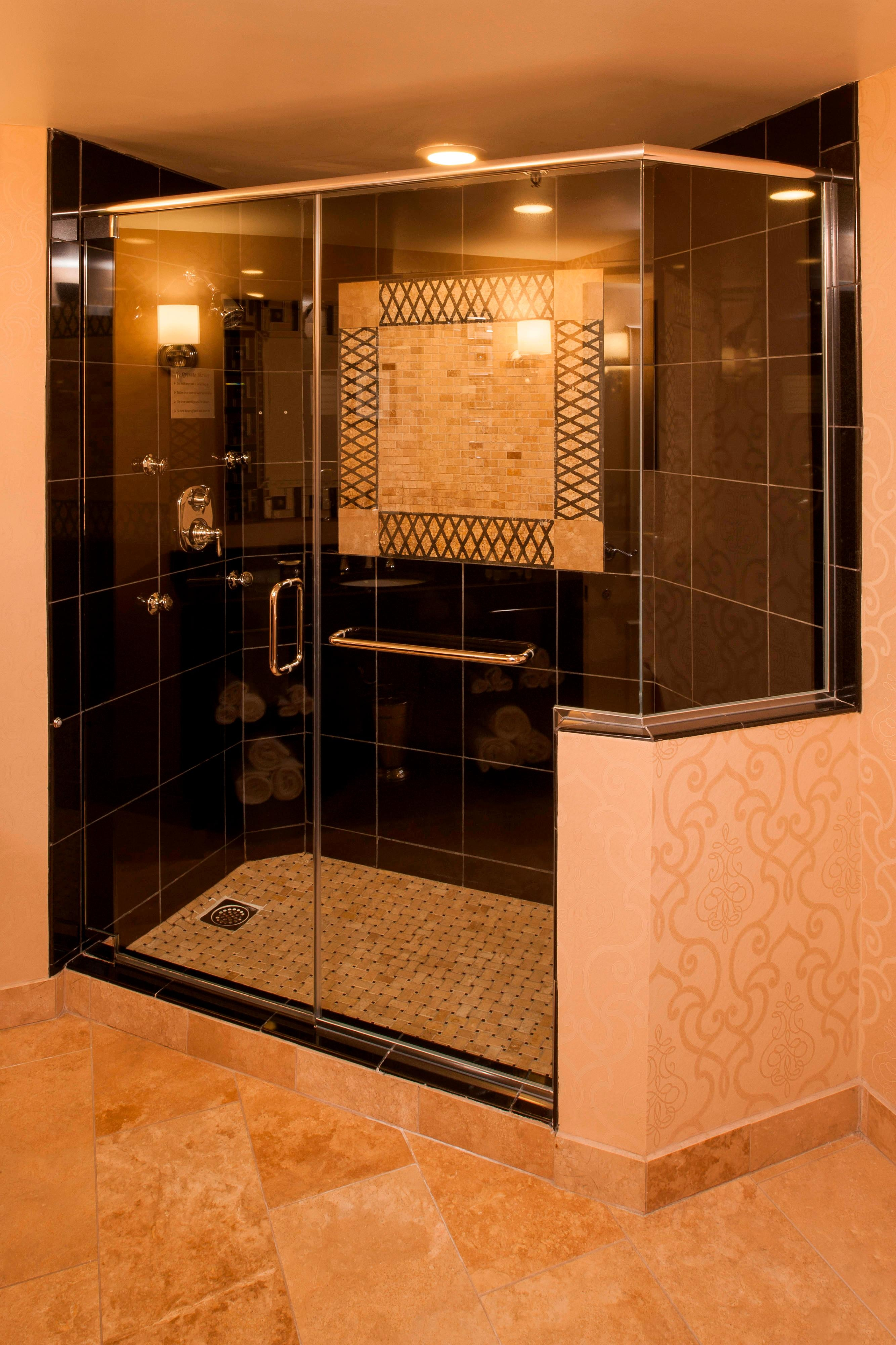 Large Studio Suite Bathroom - Shower