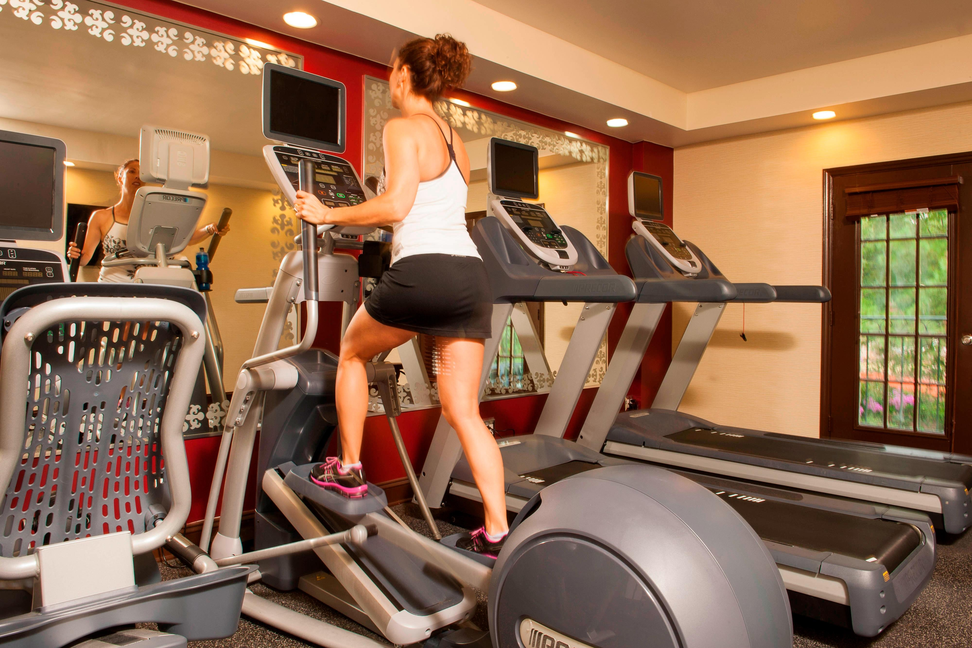 Fitness Facility at The Siena Hotel