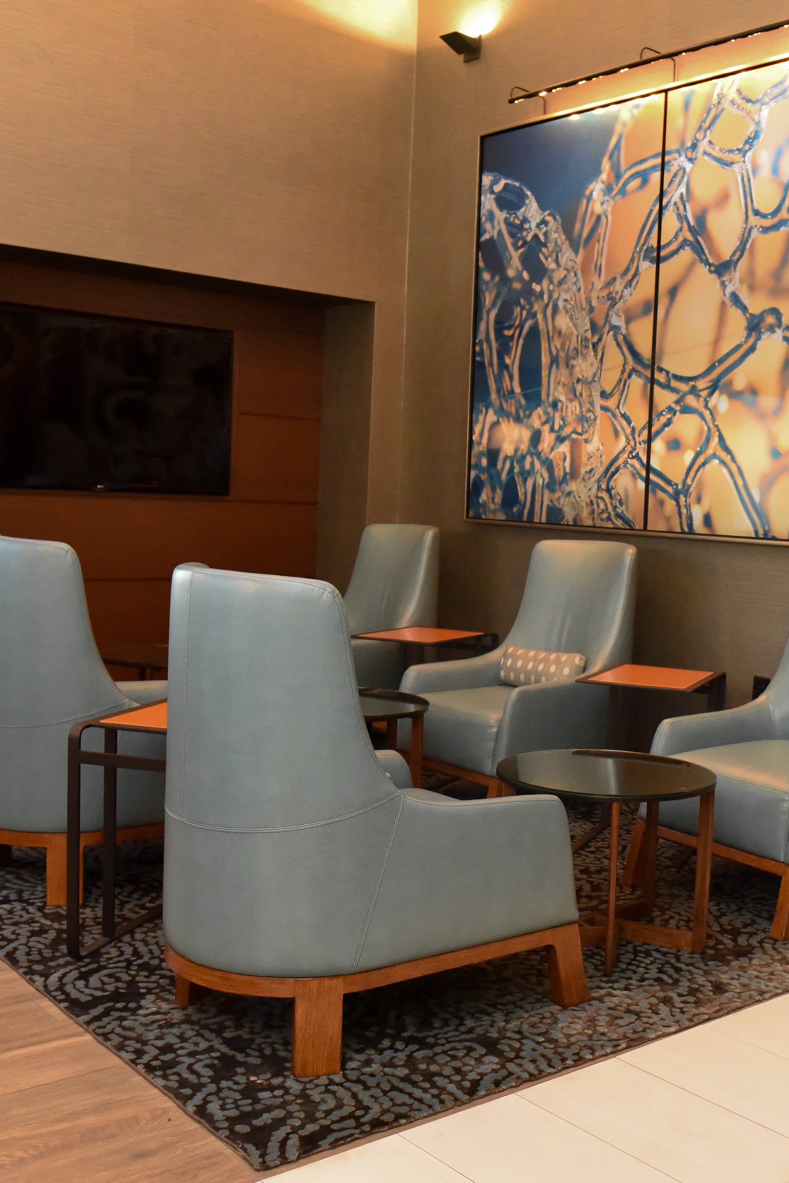 research triangle hotel with executive lounge
