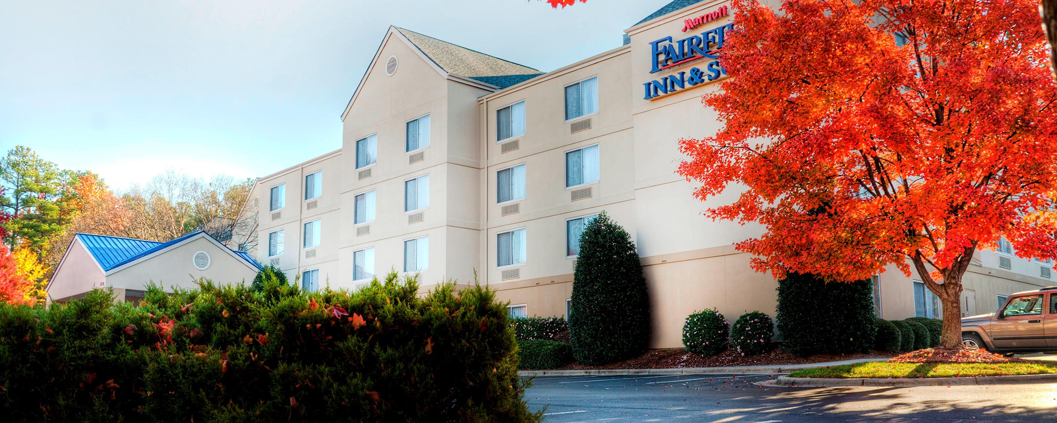 Hotel In Raleigh, Nc  Fairfield Inn  Suites Raleigh -4734